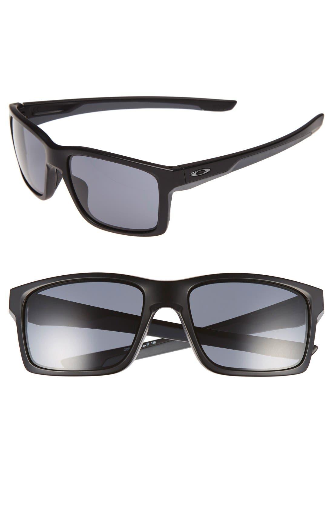 'Mainlink' 57mm Sunglasses,                         Main,                         color, Black