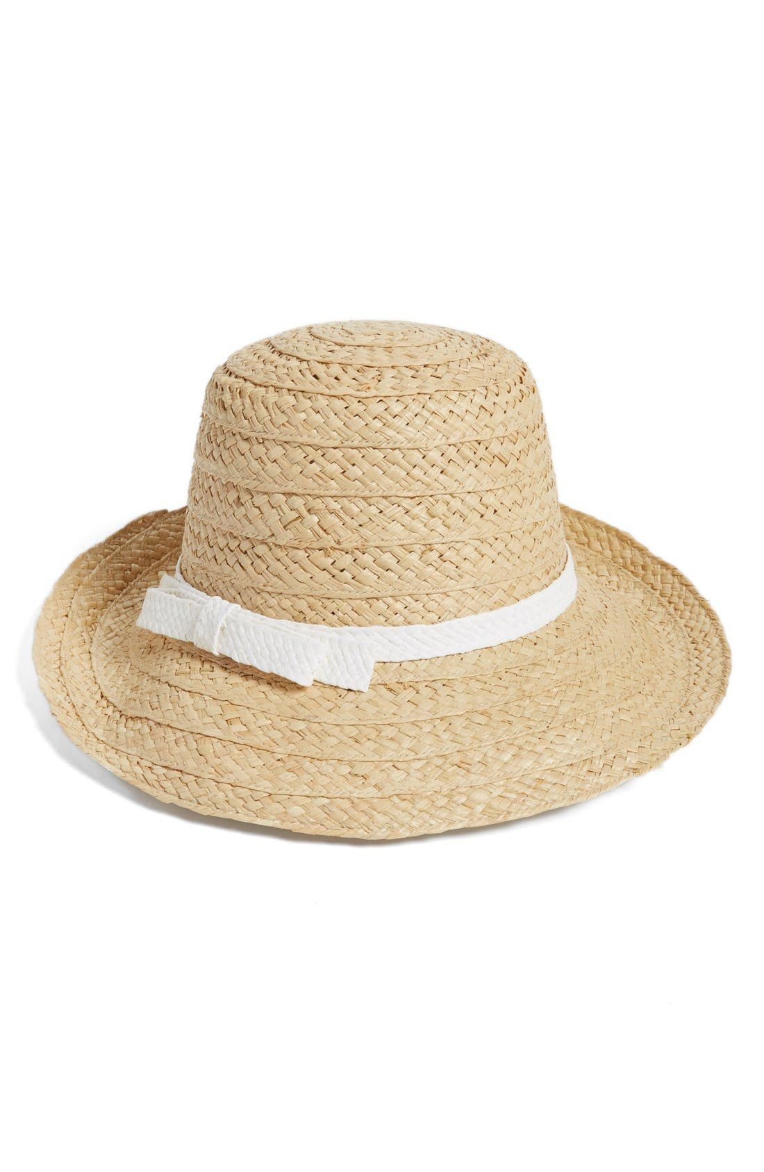 Alternate Image 1 Selected - kate spade new york asymmetrical sun hat
