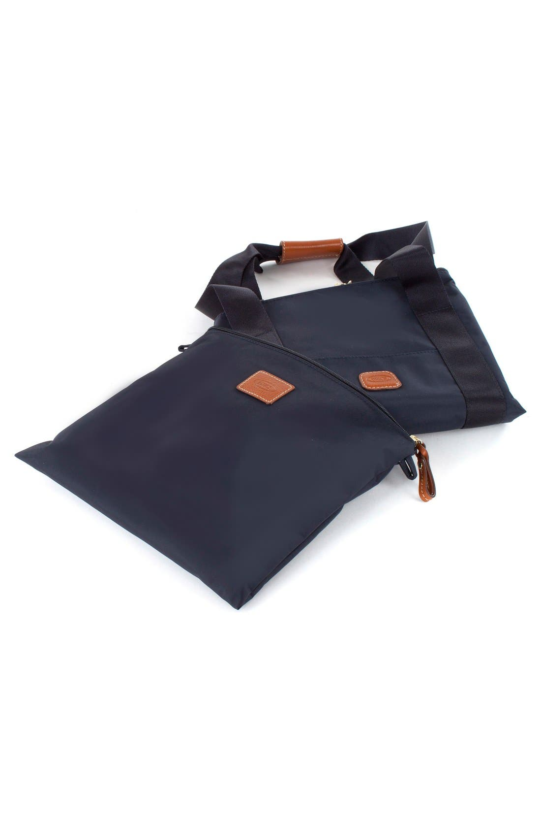 'X-Bag' Folding Duffel Bag,                             Alternate thumbnail 6, color,                             Navy