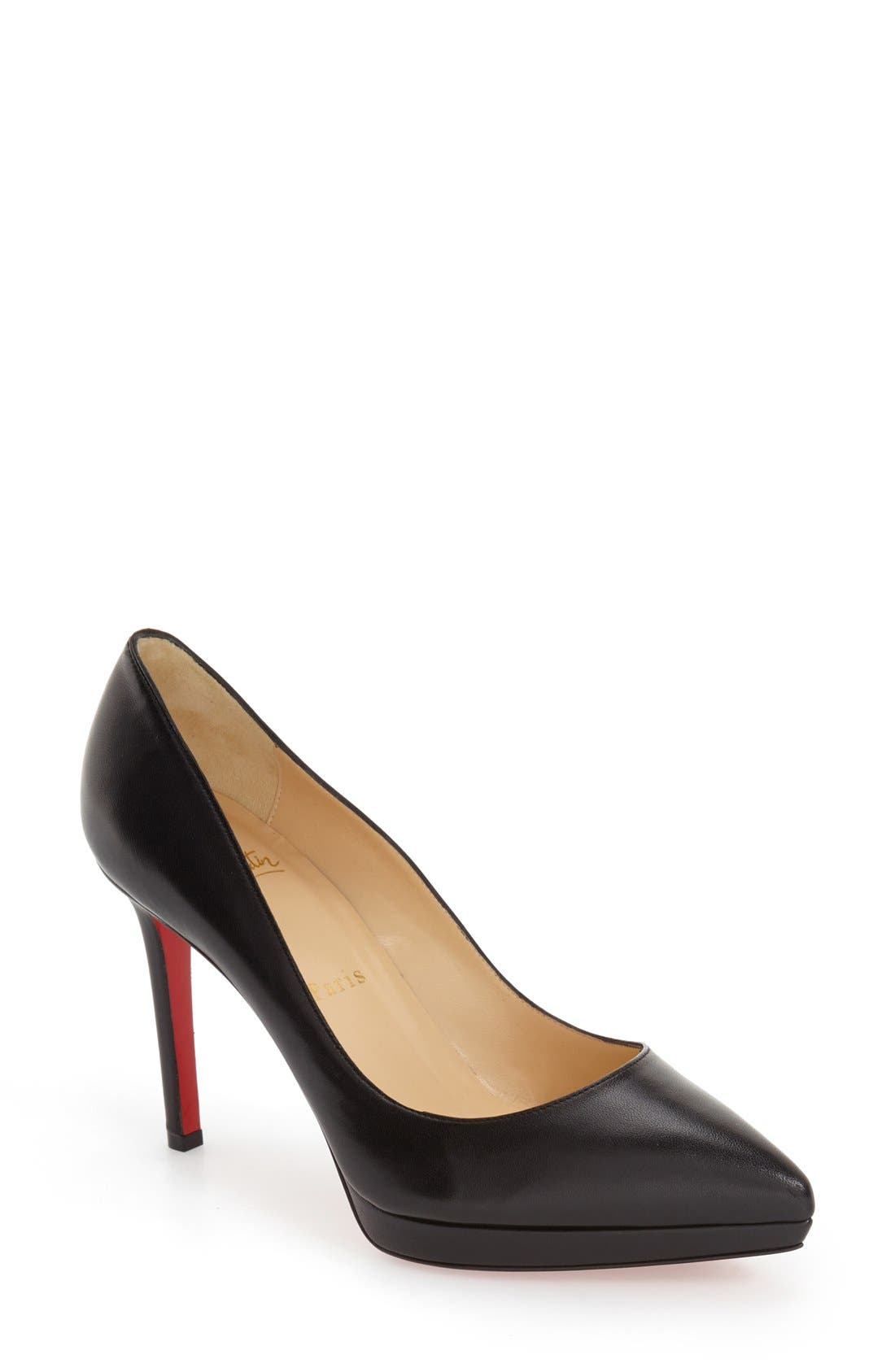 Main Image - Christian Louboutin Pigalle Plato Pointy Toe Platform Pump