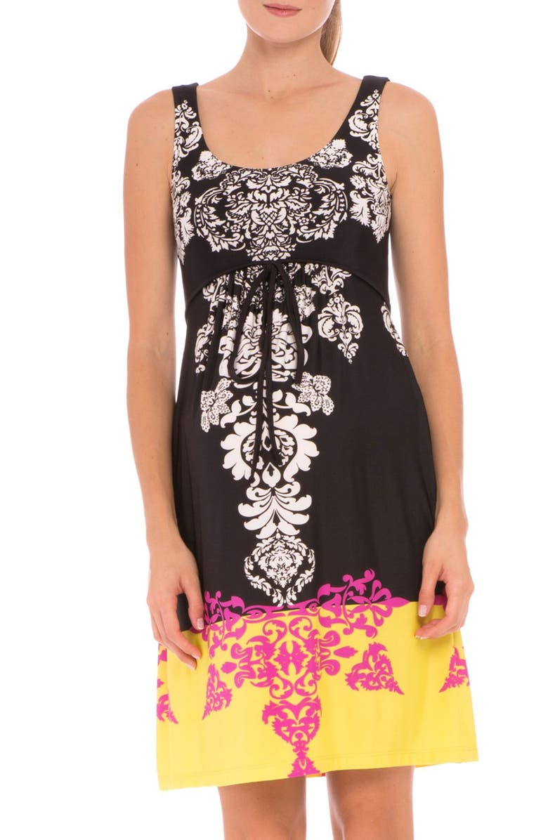 Eloise Graphic Maternity Dress