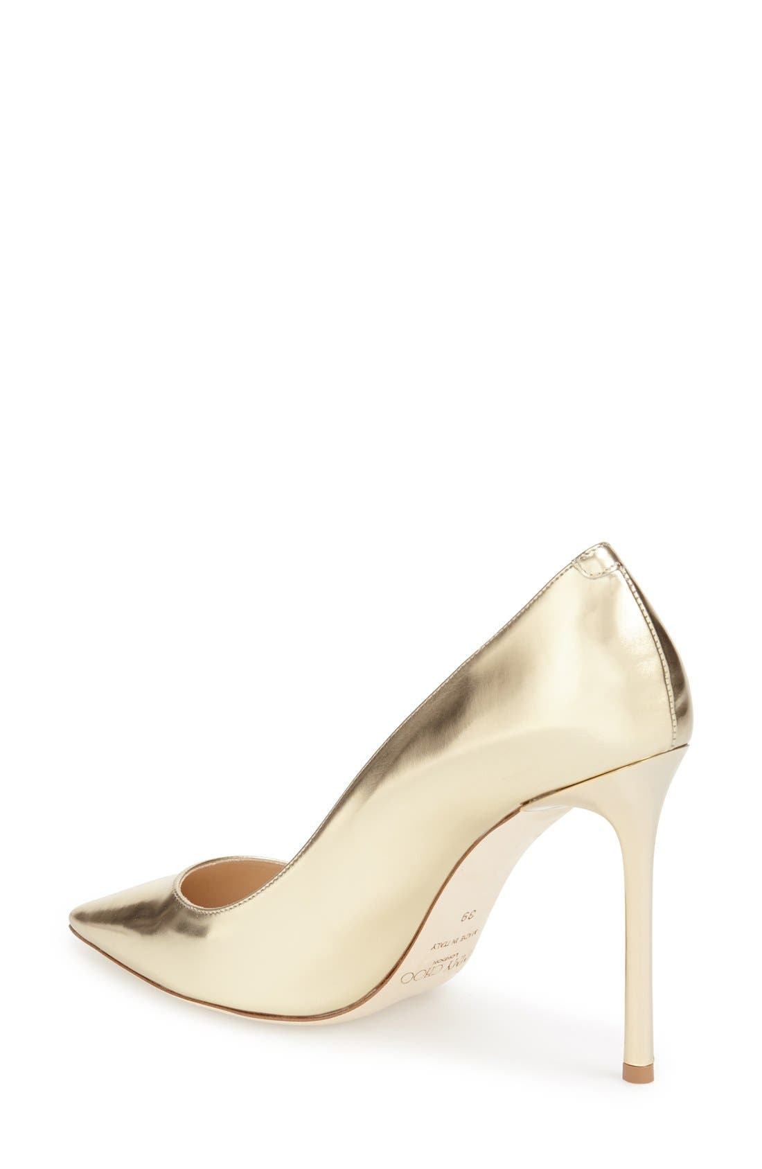 Alternate Image 2  - Jimmy Choo 'Romy' Pointy Toe Pump (Women)