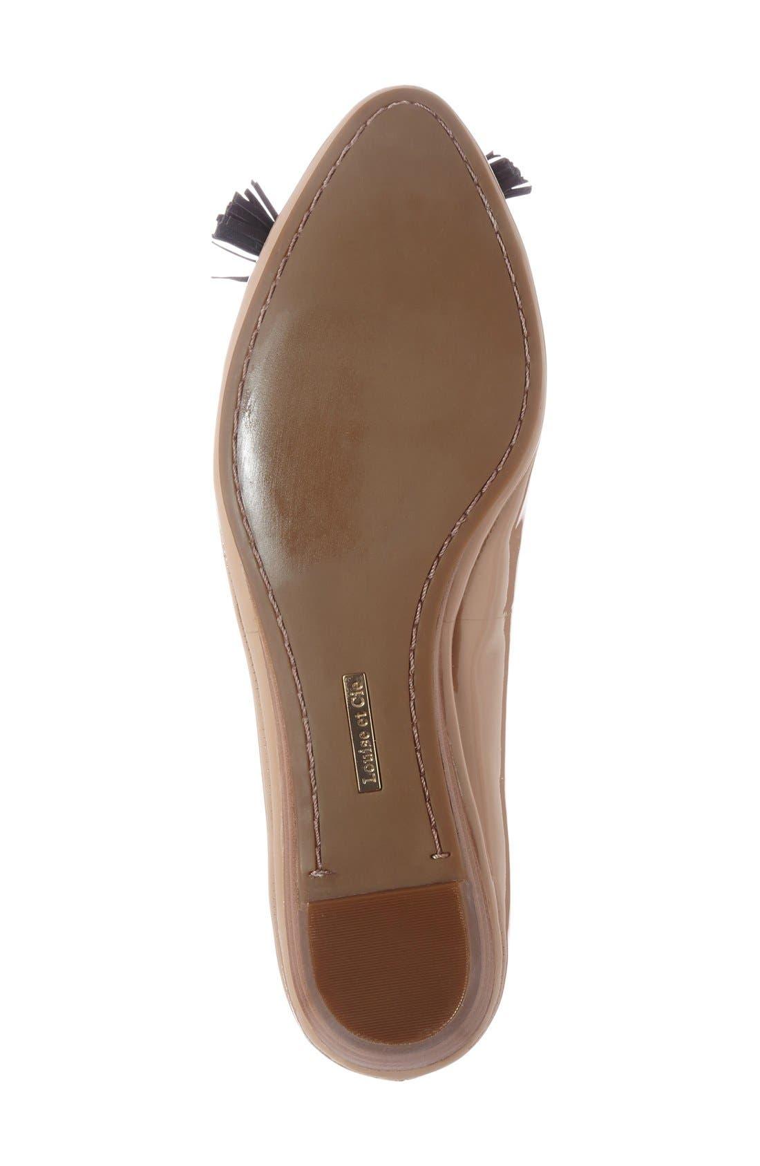 Alternate Image 4  - Louise et Cie 'Aradella' Pointy Toe Flat (Women) (Nordstrom Exclusive)