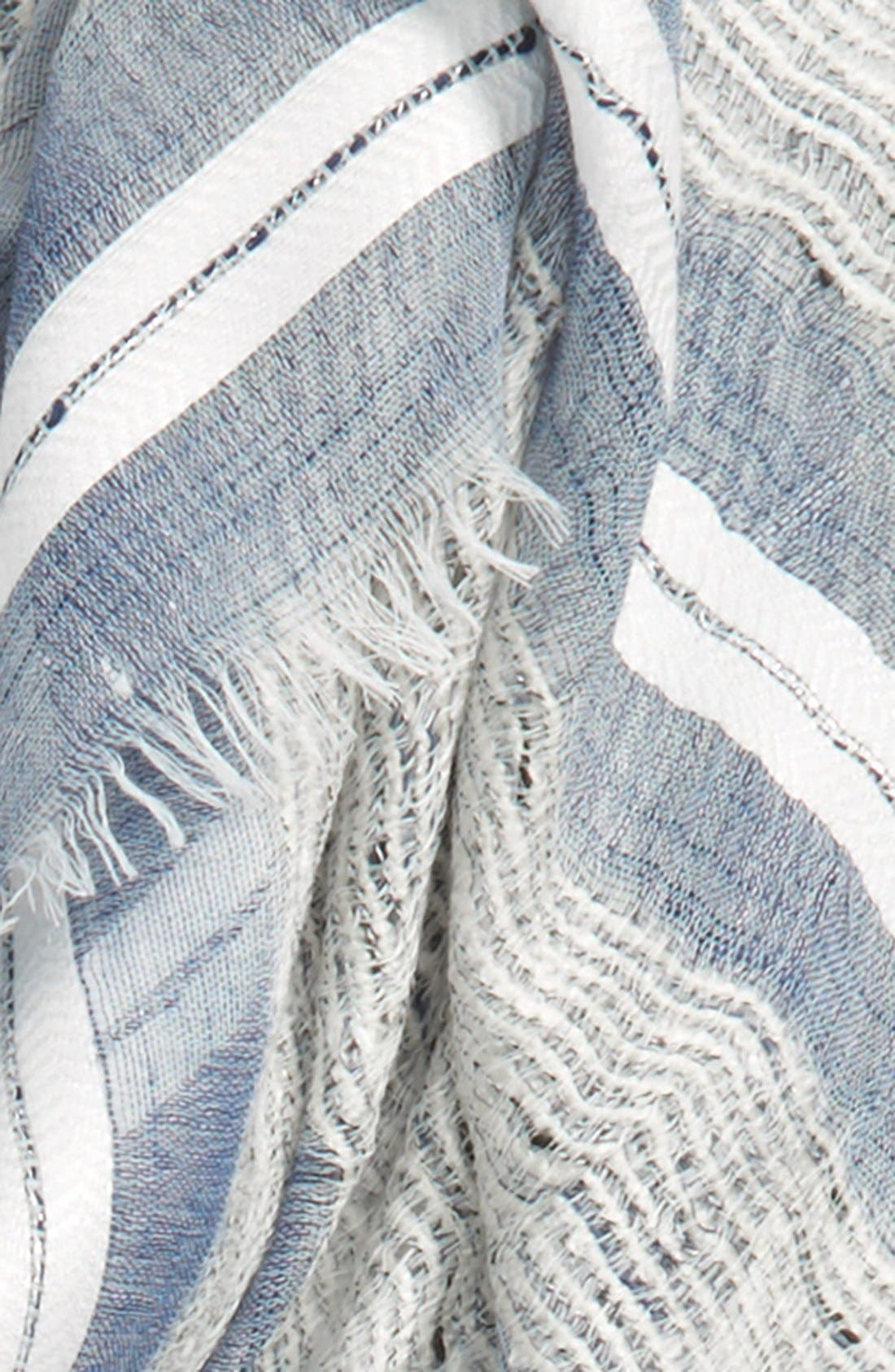 Alternate Image 3  - Sole Society Stripe Scarf