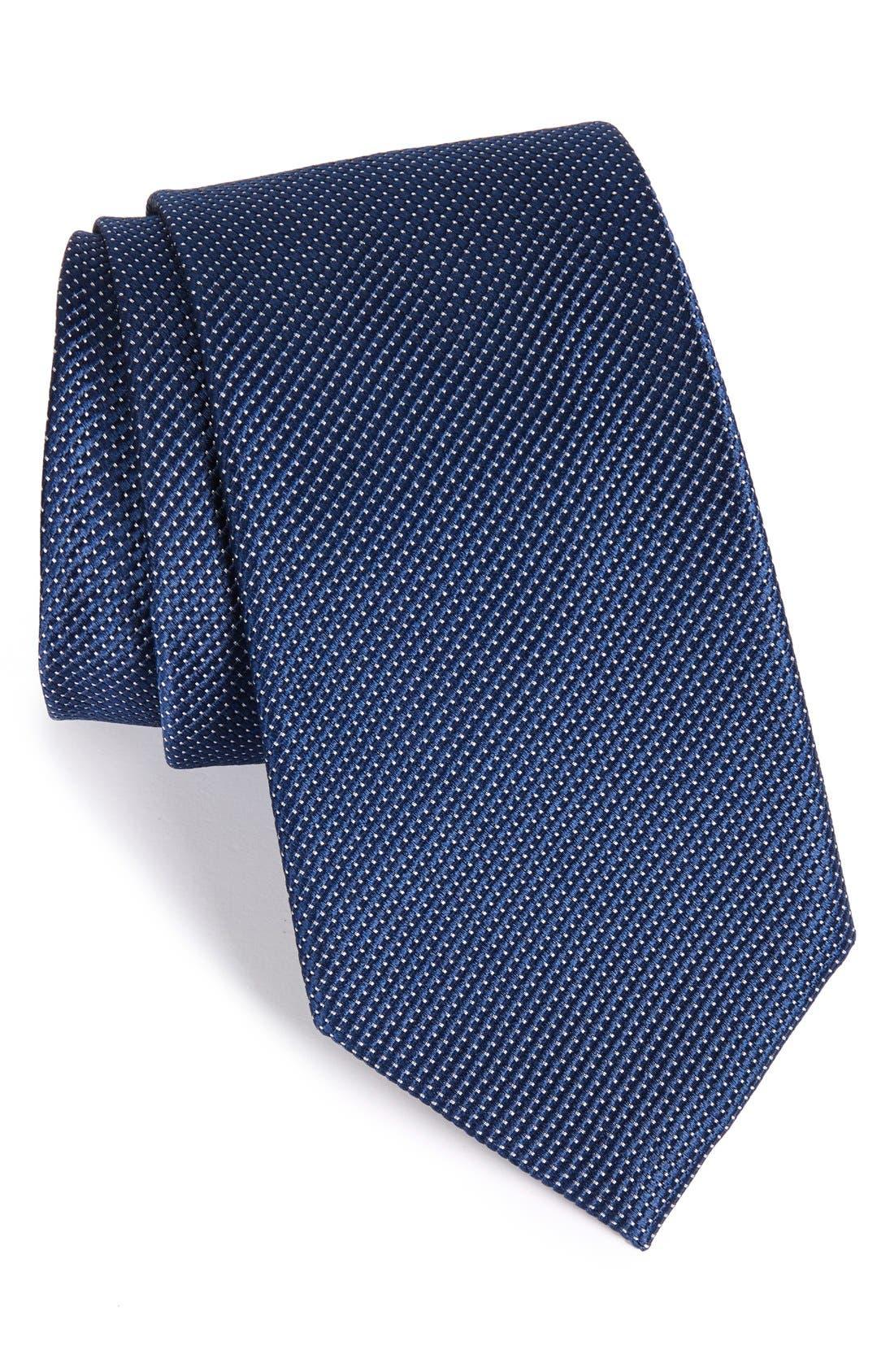 Main Image - Nordstrom Men's Shop Solid Silk Tie