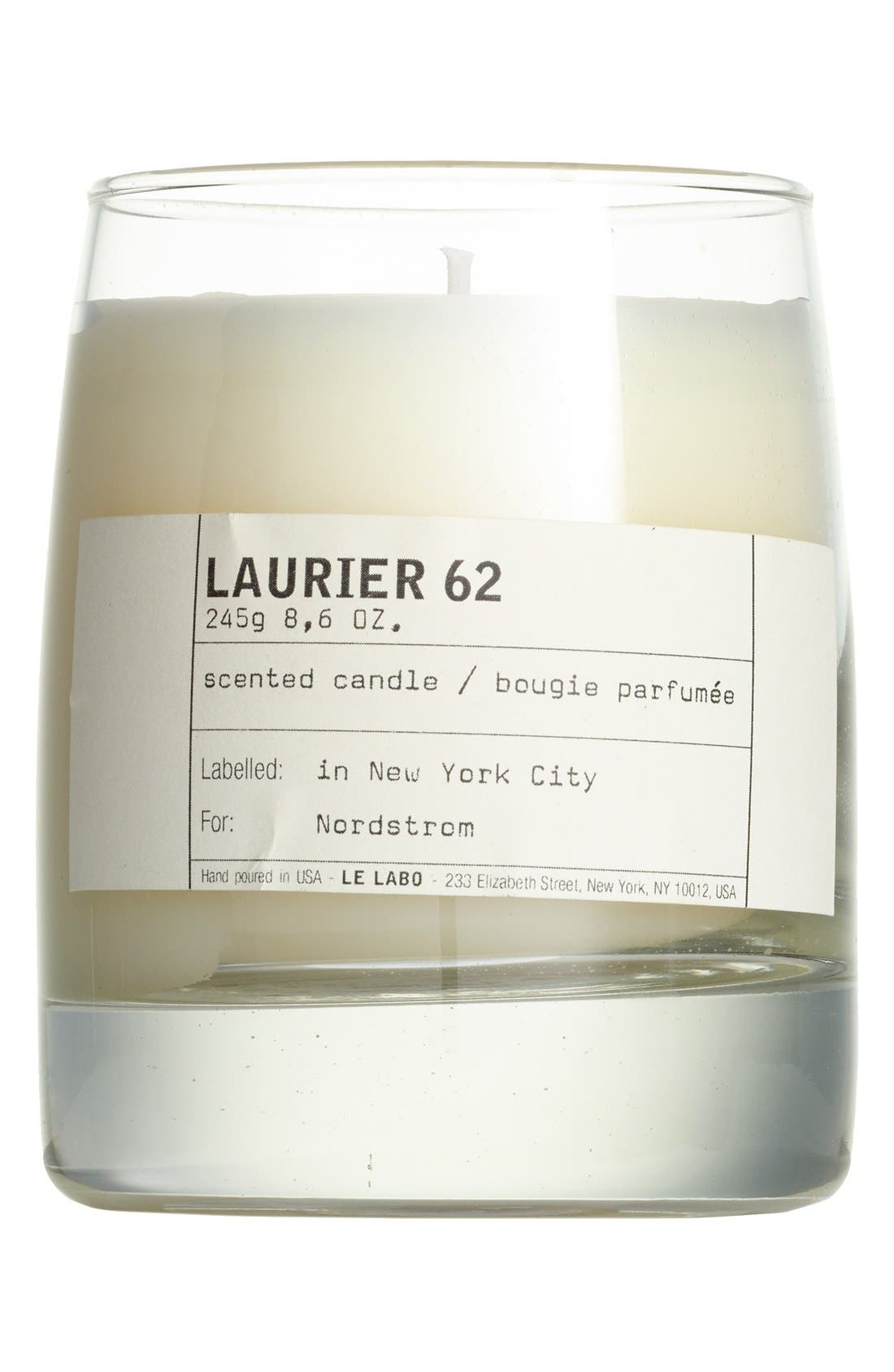 Alternate Image 1 Selected - Le Labo 'Laurier 62' Classic Candle