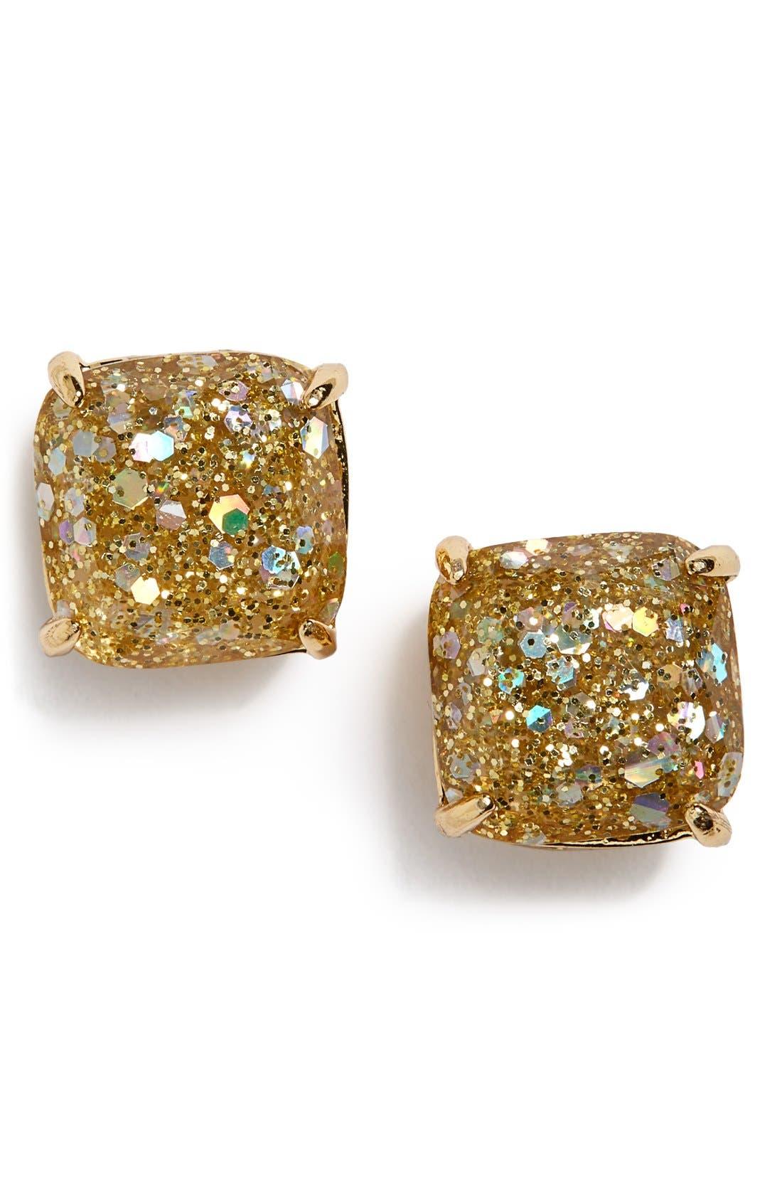 Alternate Image 1 Selected - kate spade new york mini small square stud earrings