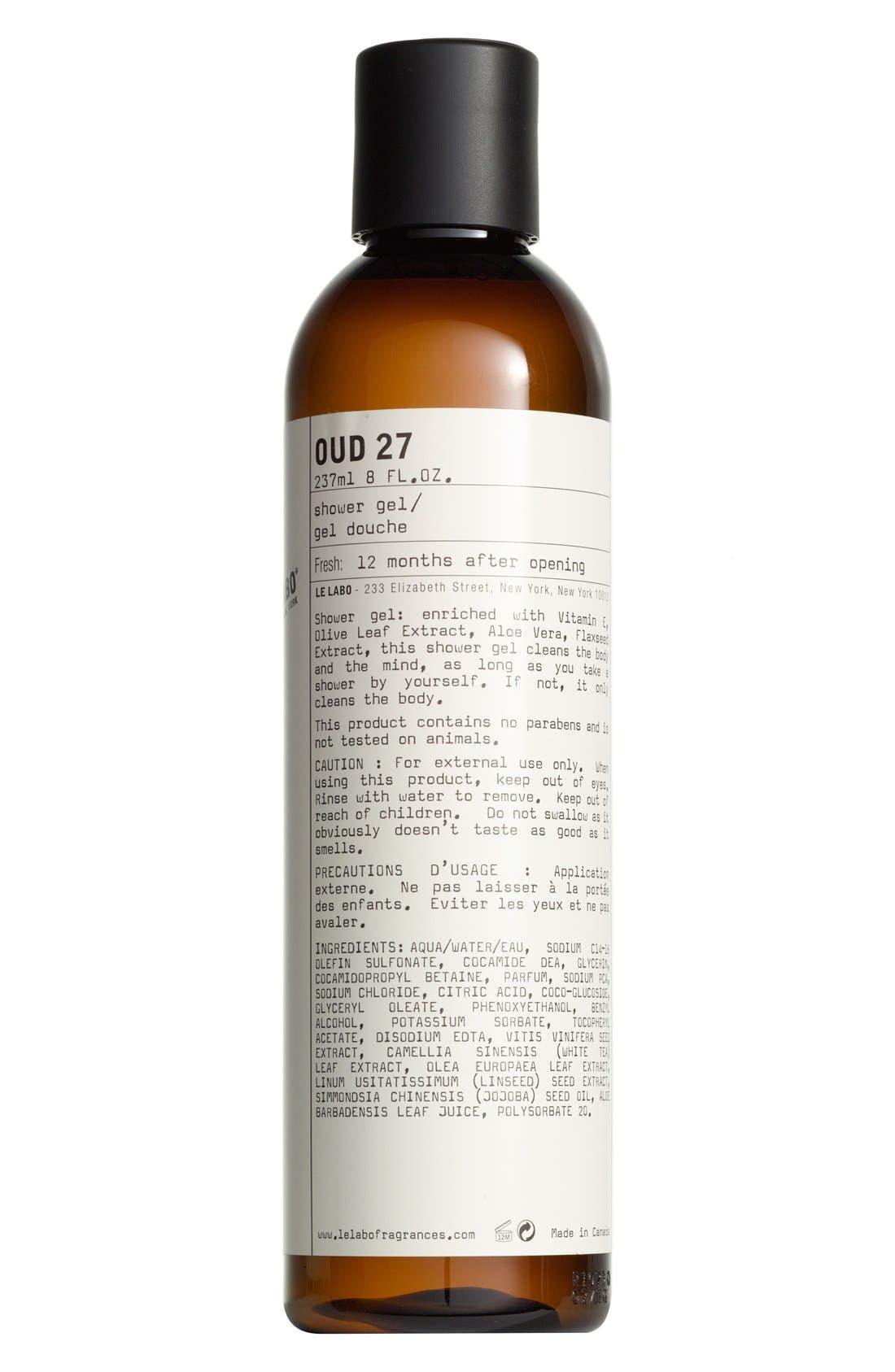 Le Labo 'Oud 27' Shower Gel