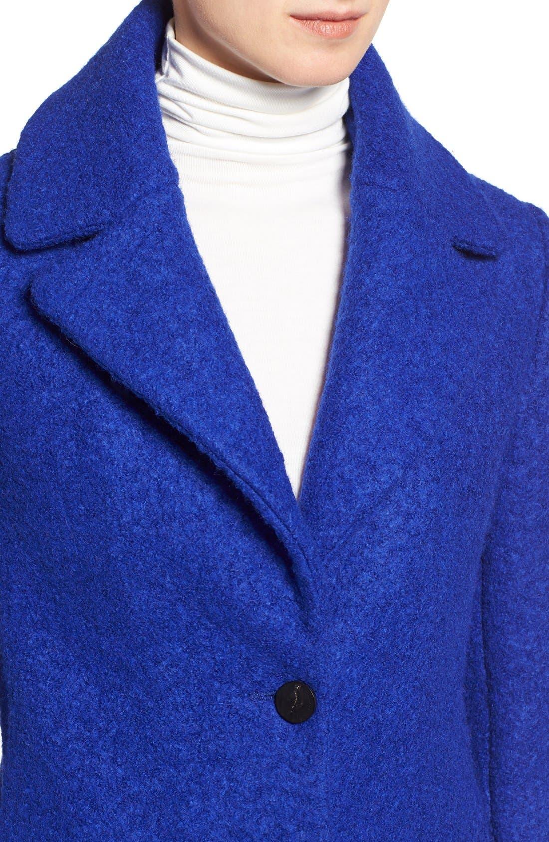 Alternate Image 4  - Tahari 'Tessa' Boiled Wool Blend Coat