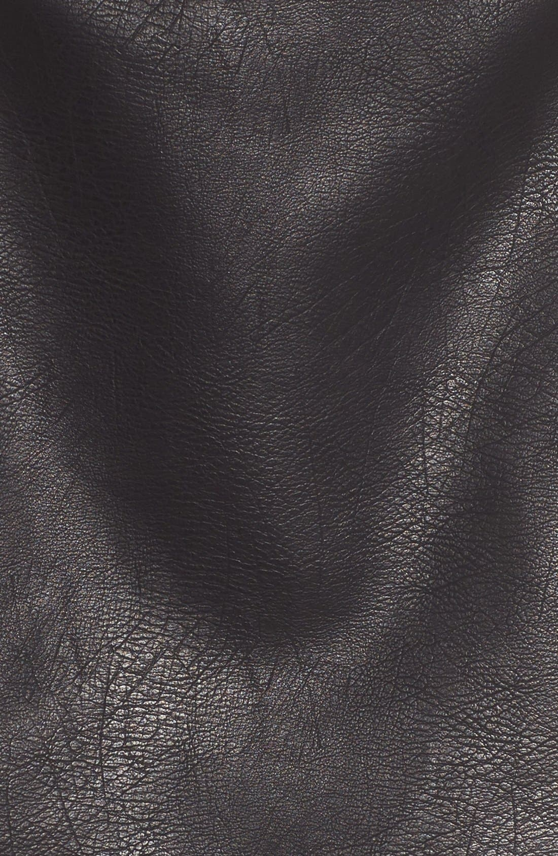 Alternate Image 5  - Leith Faux Leather Skirt