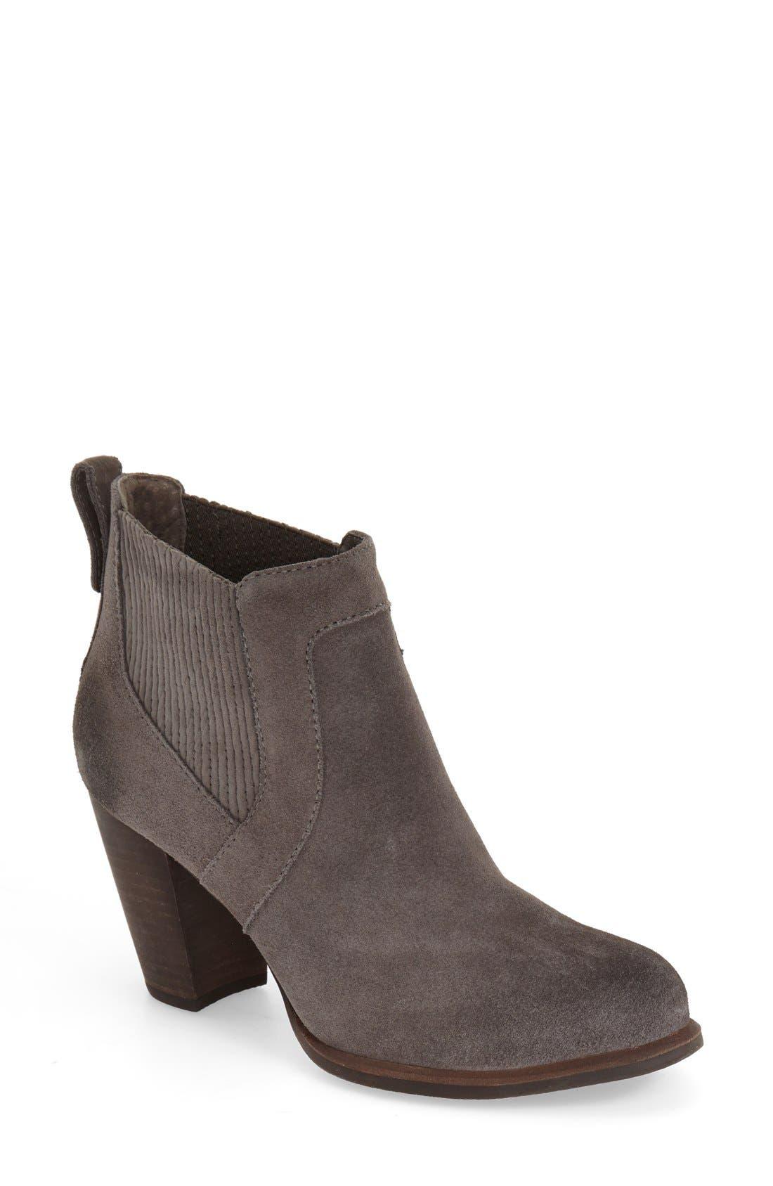 Alternate Image 1 Selected - UGG® 'Cobie II' Block Heel Bootie (Women)