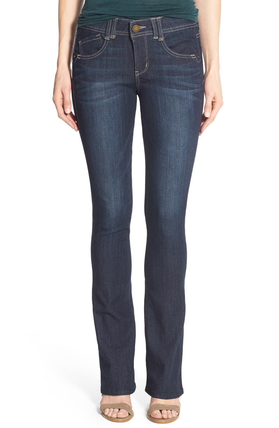 Main Image - Wit & Wisdom Ab-solution Itty Bitty Bootcut Jeans (Regular & Petite)