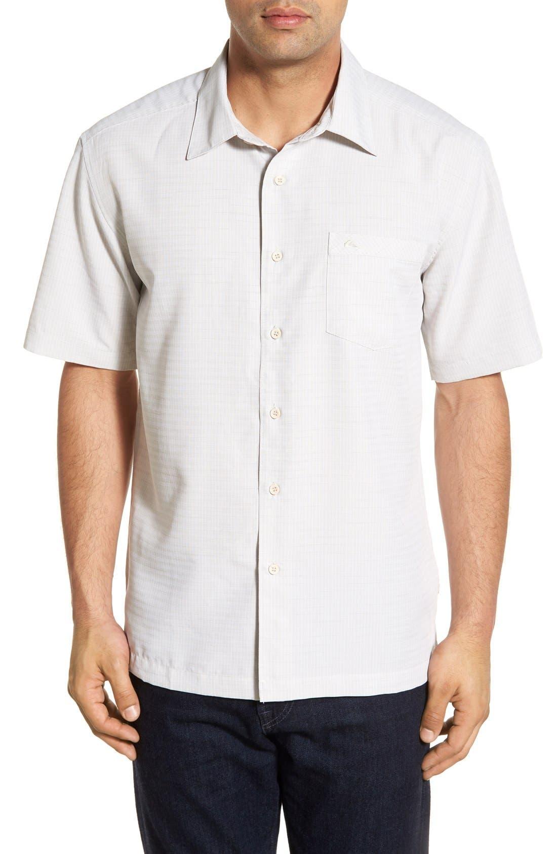 Main Image - Quiksilver Waterman Collection 'Centinela 4' Short Sleeve Sport Shirt