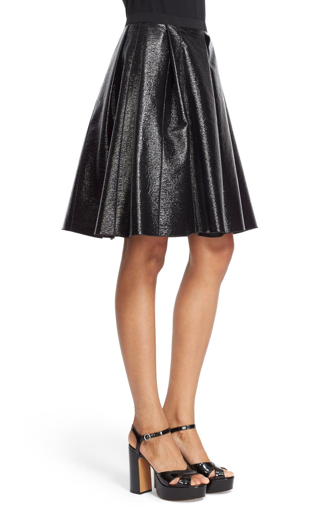 Alternate Image 5  - MARC JACOBS Pleated A-Line Skirt