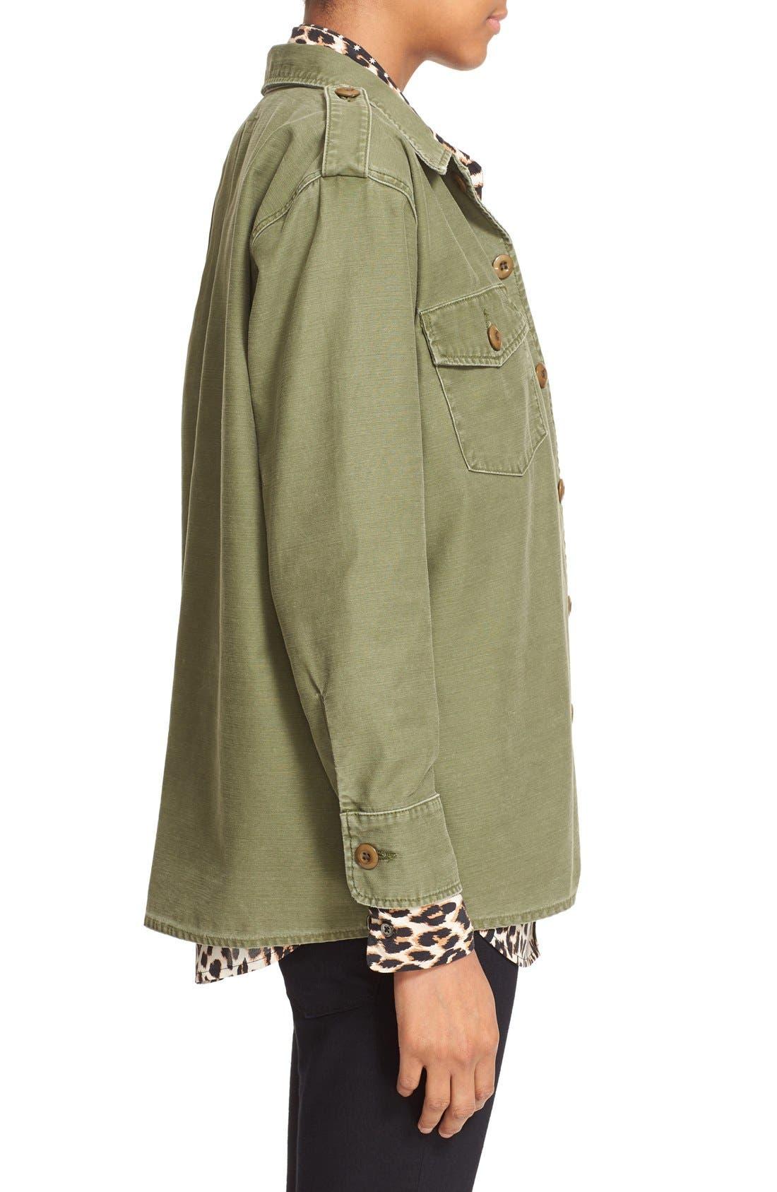 Alternate Image 3  - Kate Moss for Equipment 'Major' Shirt Jacket