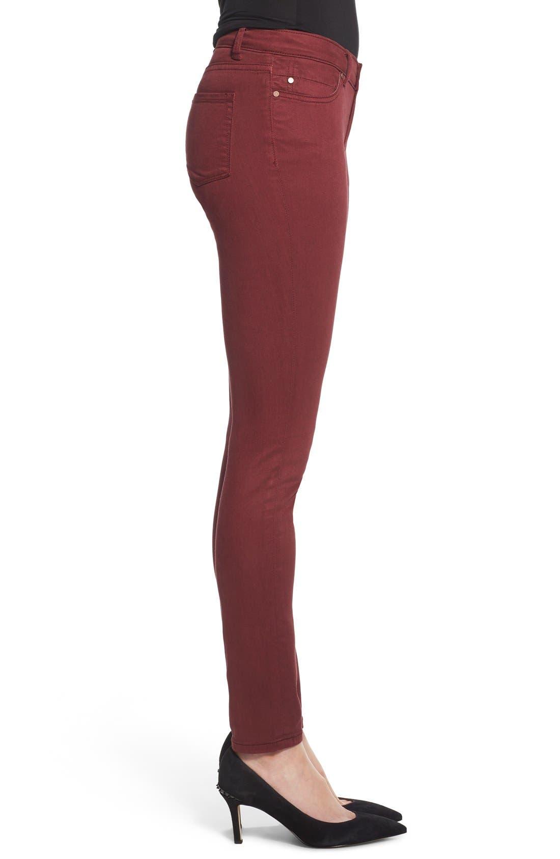 Alternate Image 3  - Caslon® Colored Stretch Skinny Jeans