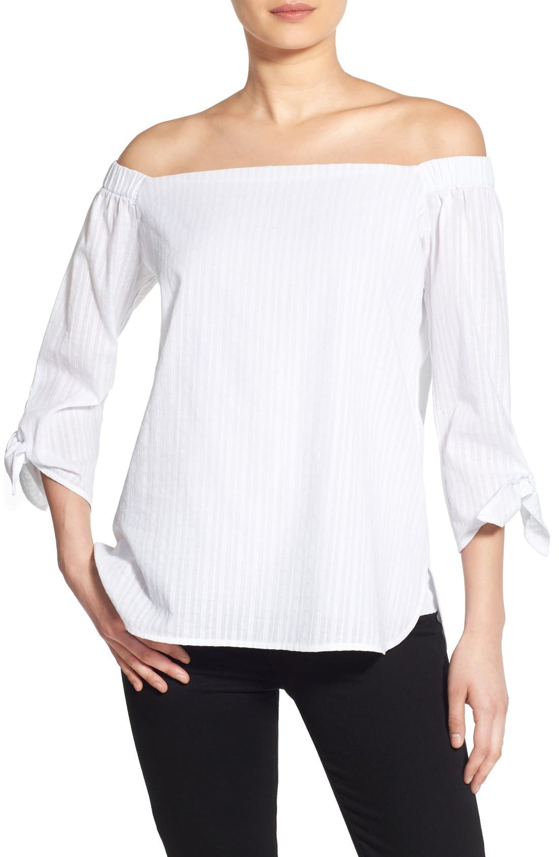 Alternate Image 1 Selected - Bailey 44 'Yarrow' Off the Shoulder Top
