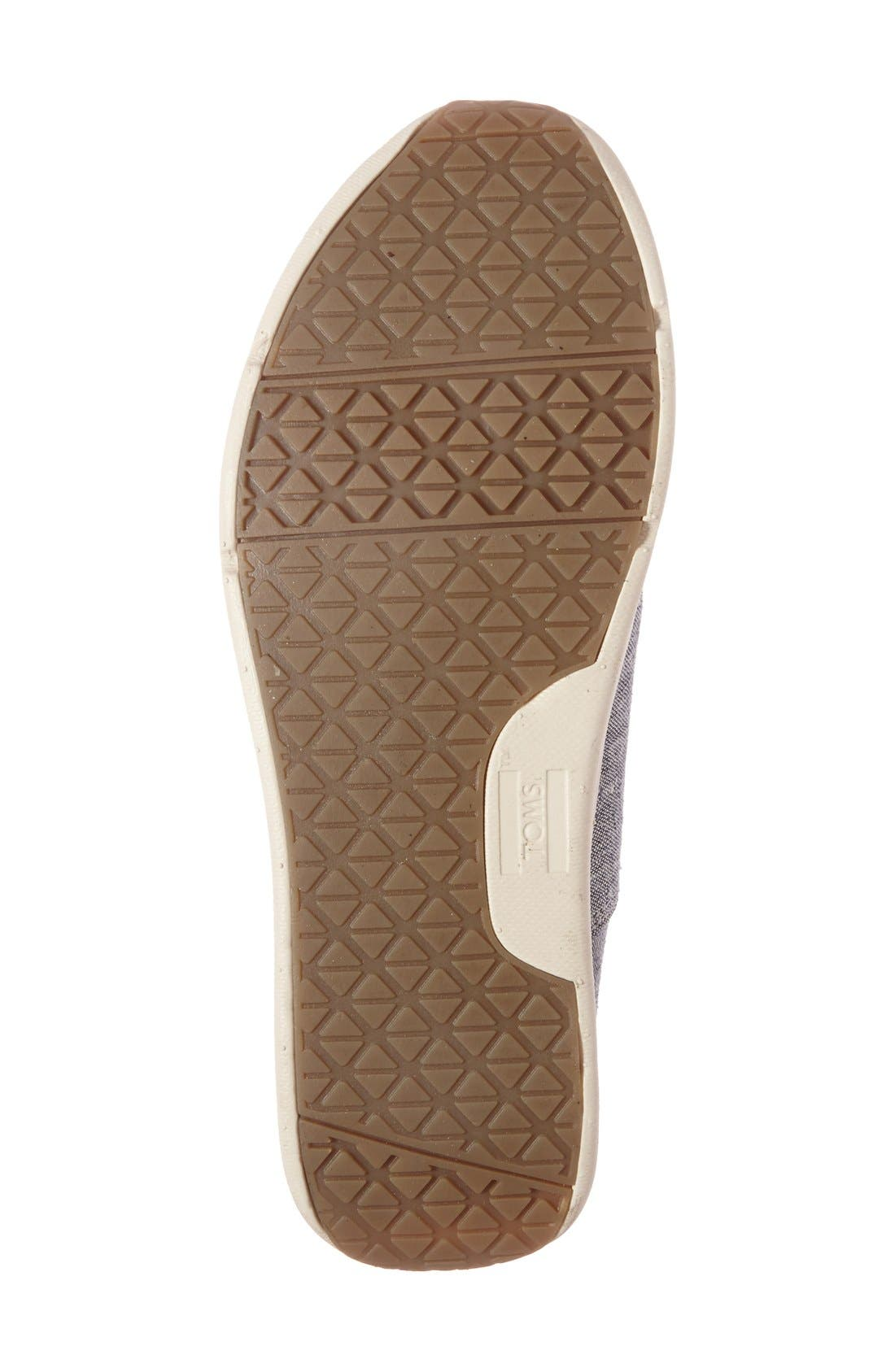 Alternate Image 4  - TOMS 'Del Rey' Sneaker (Women)