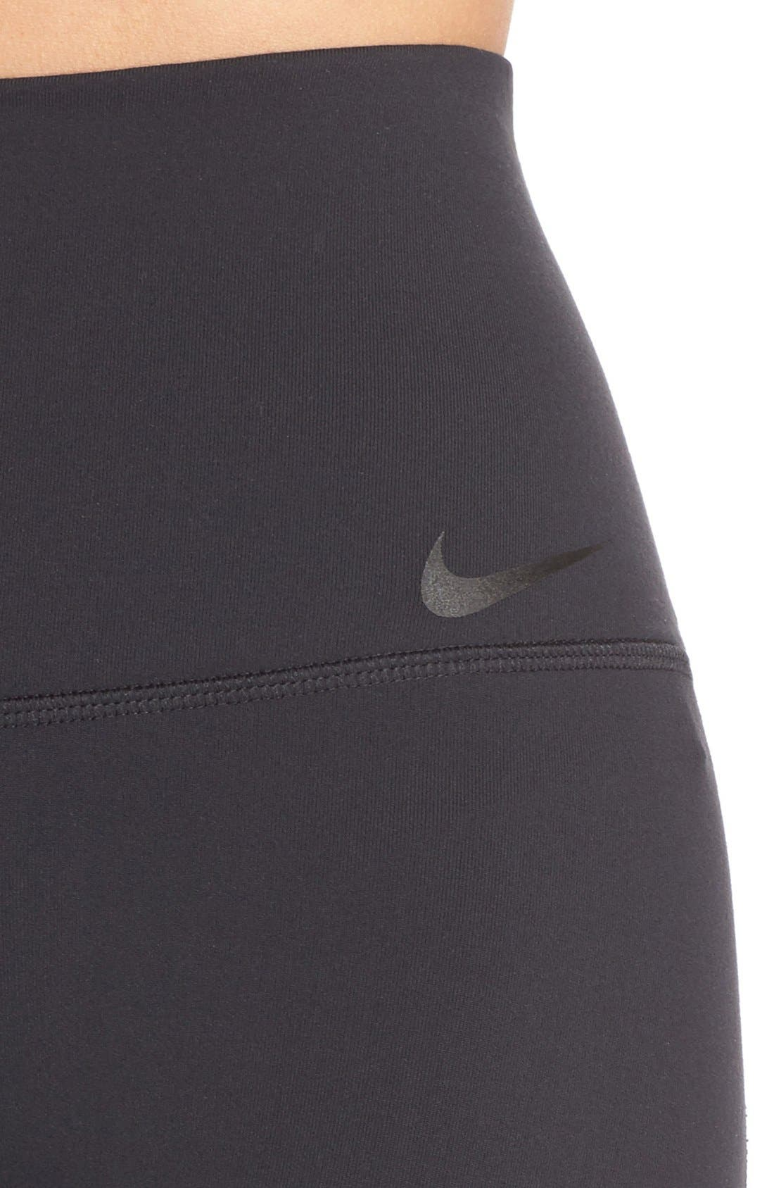 Alternate Image 4  - Nike Power Legendary High Waist Tights