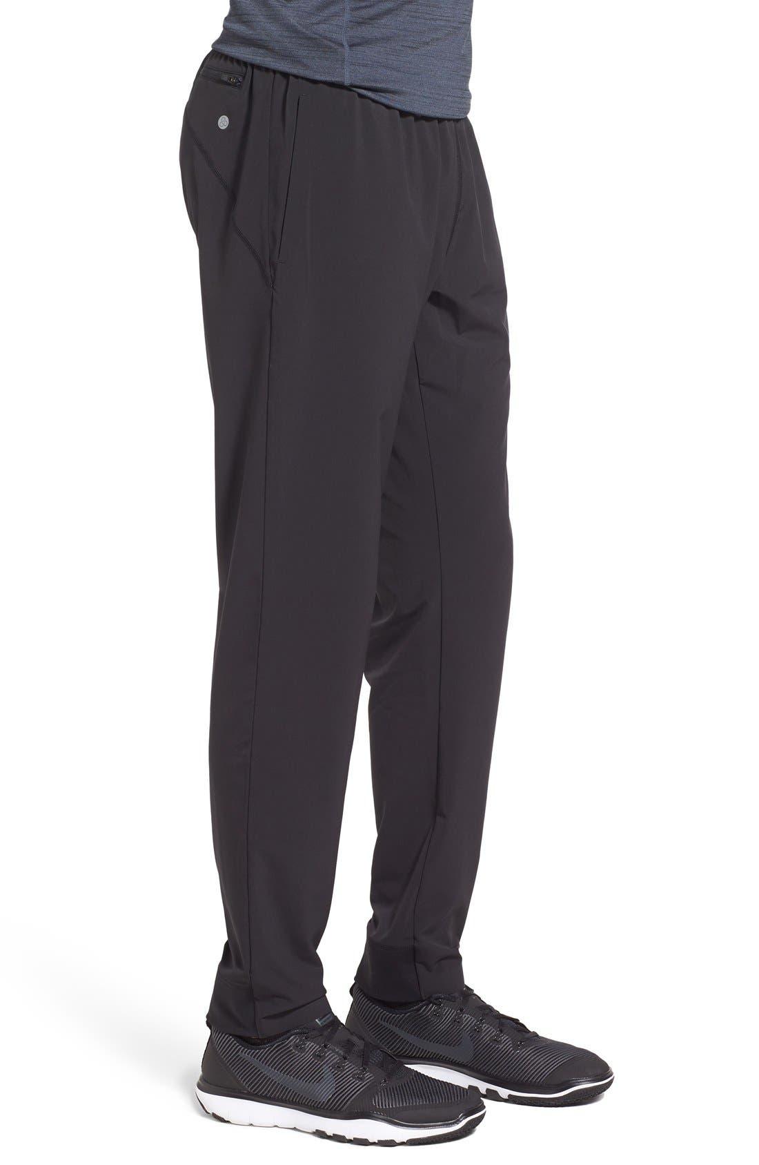 Alternate Image 3  - Zella 'Graphite' Tapered Athletic Pants