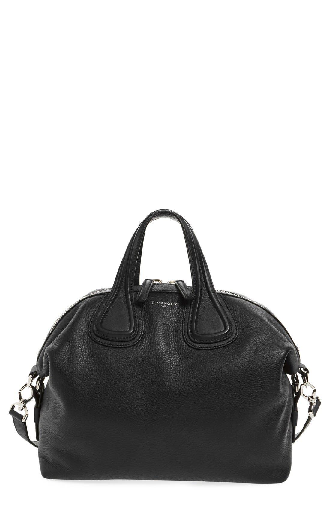 GIVENCHY Medium Nightingale Calfskin Leather Satchel