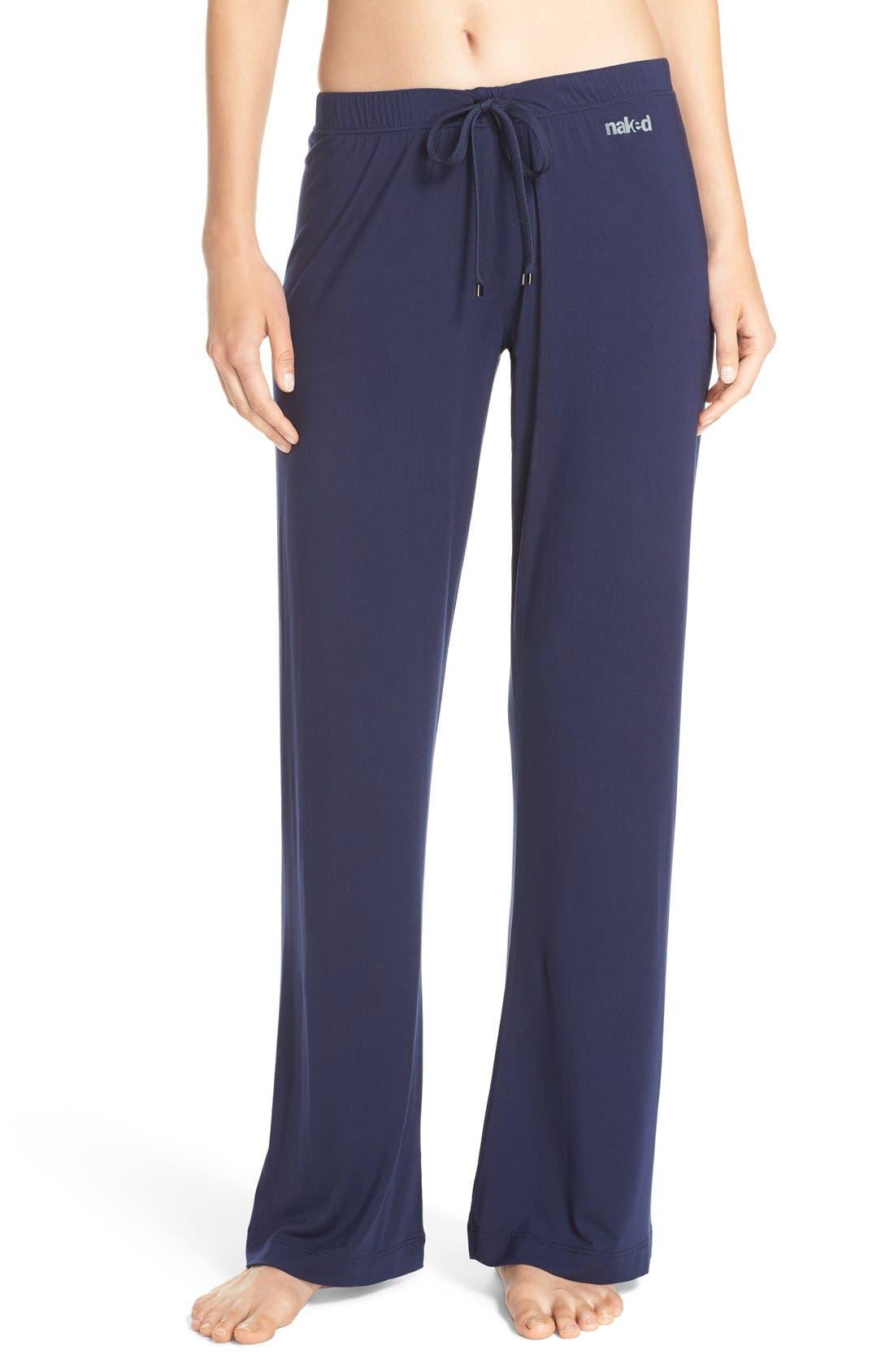 Lounge Pants,                         Main,                         color, Peacoat
