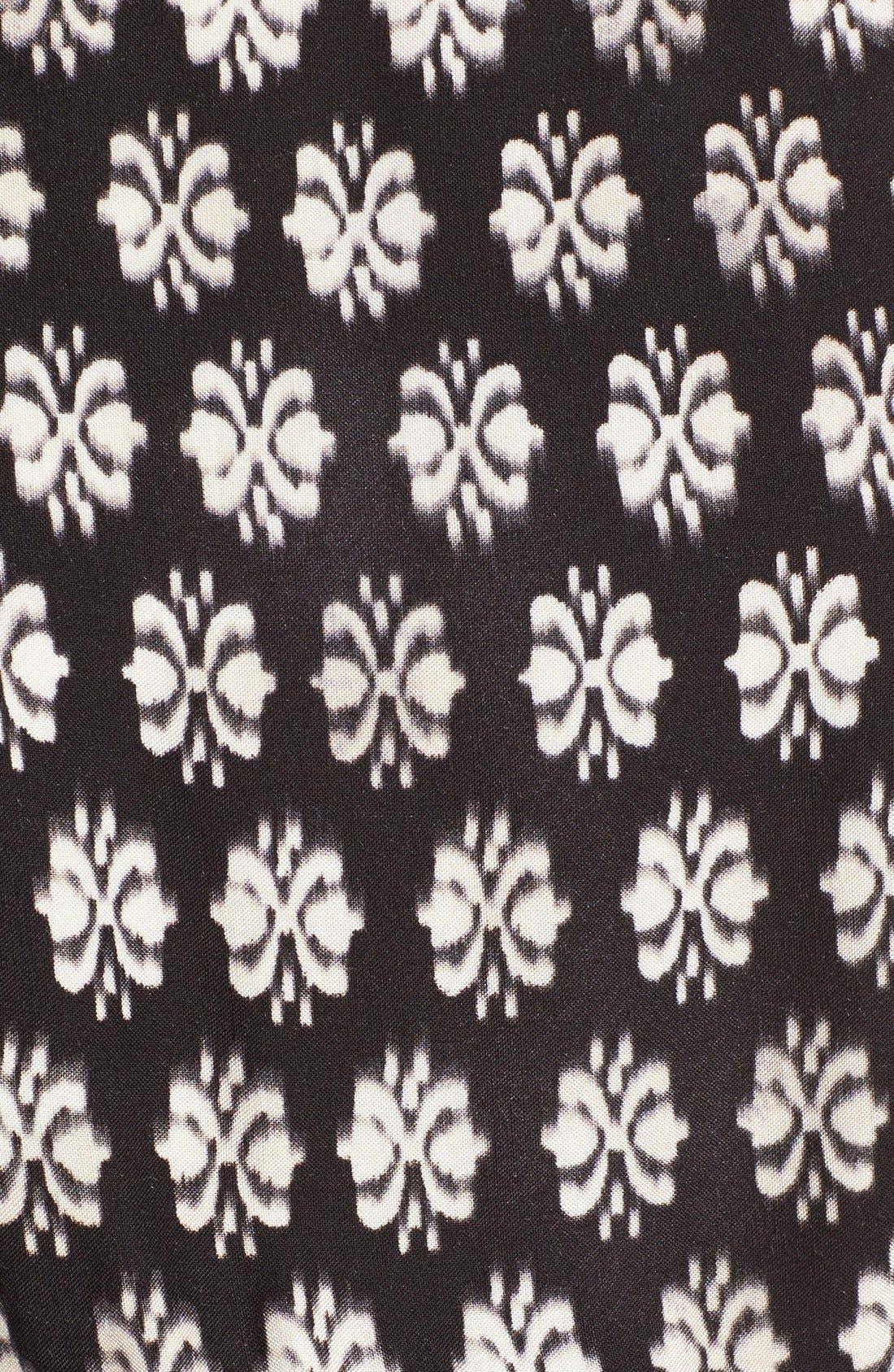 Alternate Image 5  - Mimi Chica Print Lace Up Maxi Dress
