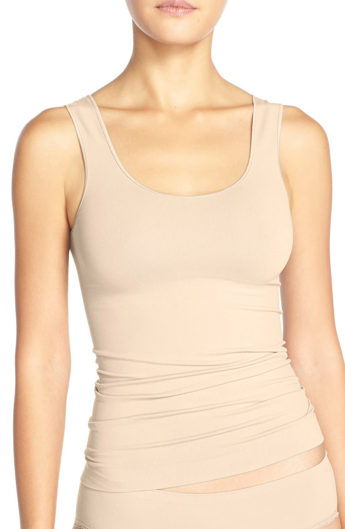 Nordstrom Lingerie Two-Way Seamless Tank