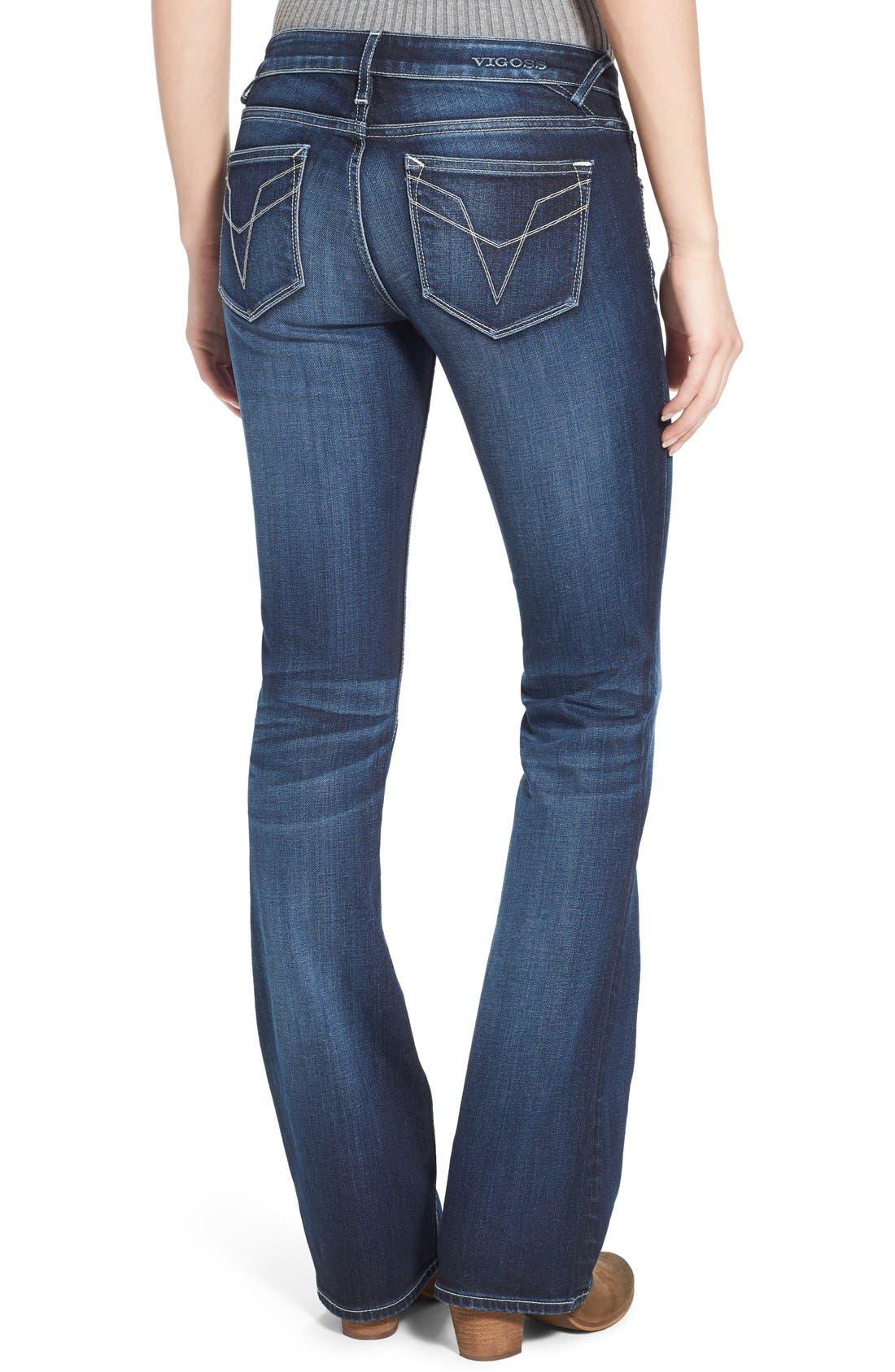 Alternate Image 2  - Vigoss Bootcut Jeans