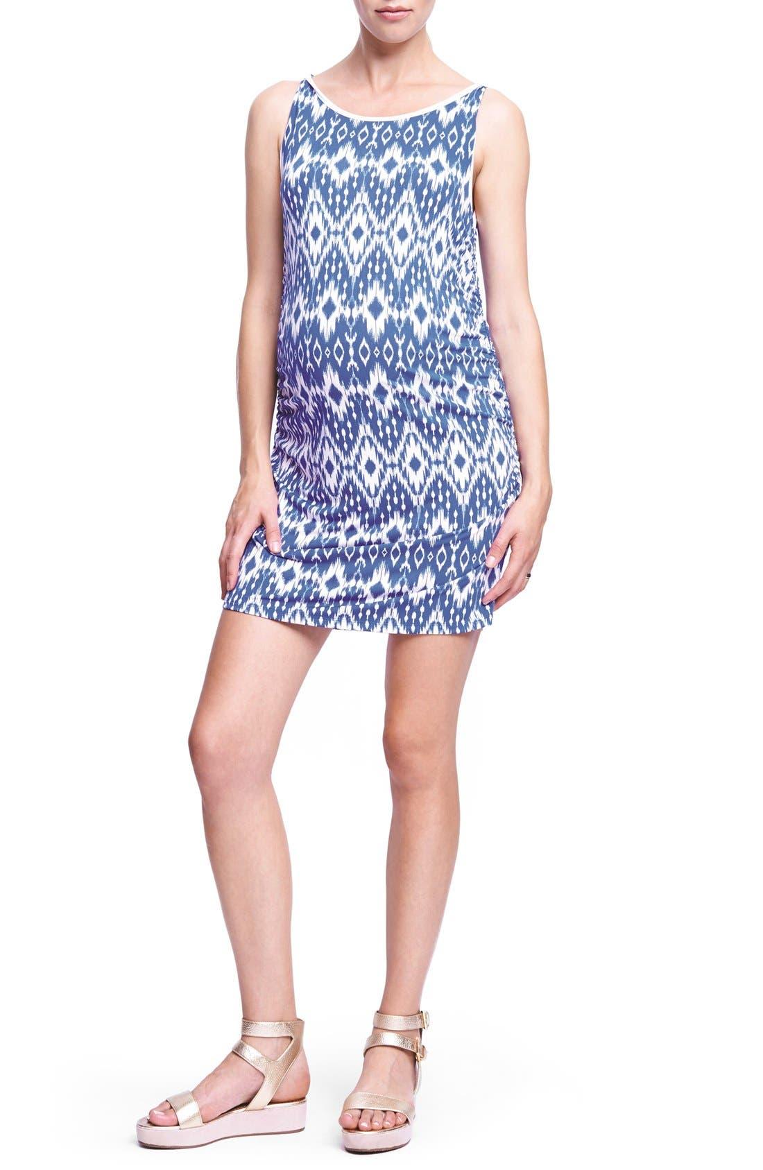 Main Image - The Urban Ma 'Twist' Maternity Tank Dress