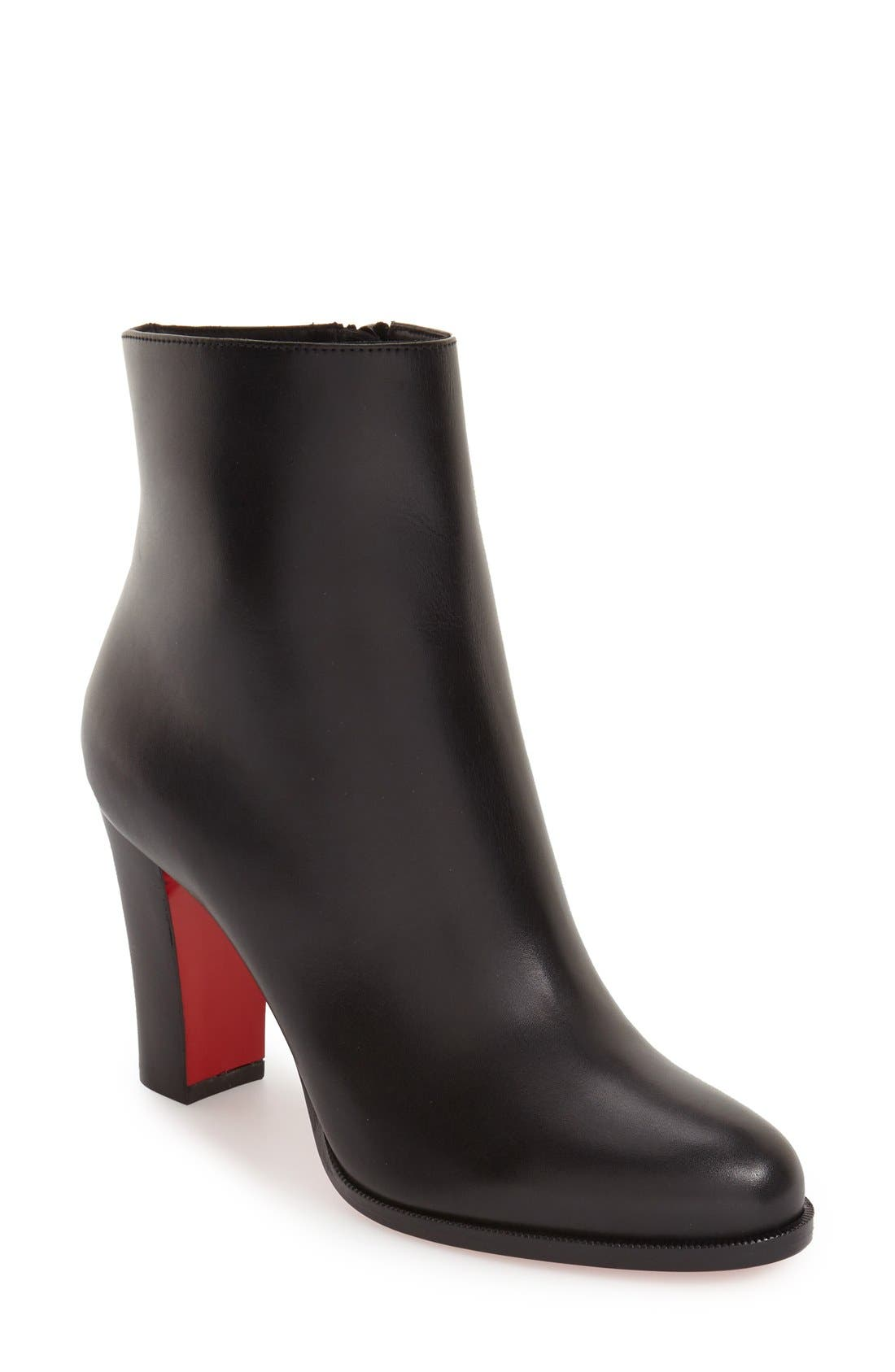 Alternate Image 1 Selected - Christian Louboutin Adox Block Heel Bootie