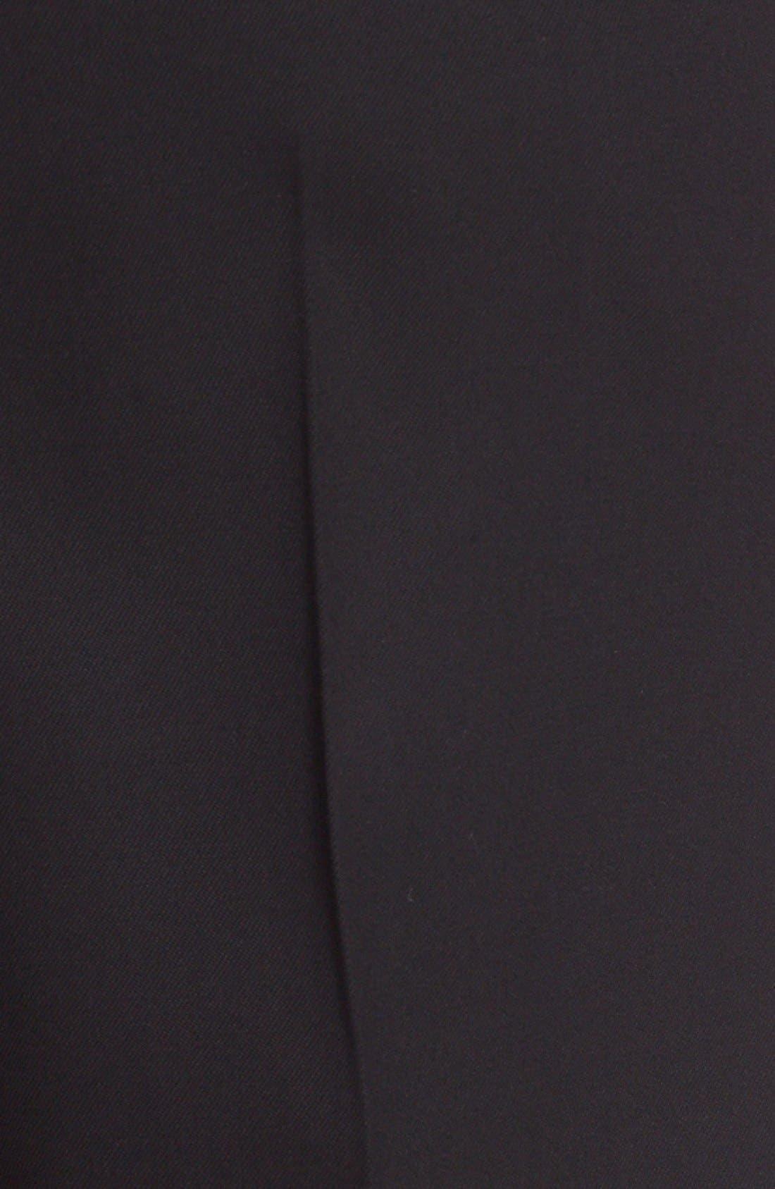 Alternate Image 3  - Oscar de la Renta Stretch Wool Straight Leg Pants