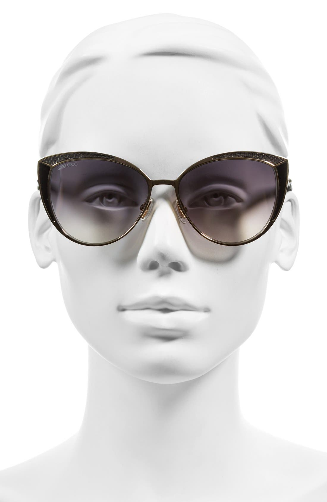 Alternate Image 2  - Jimmy Choo 56mm Cat Eye Sunglasses