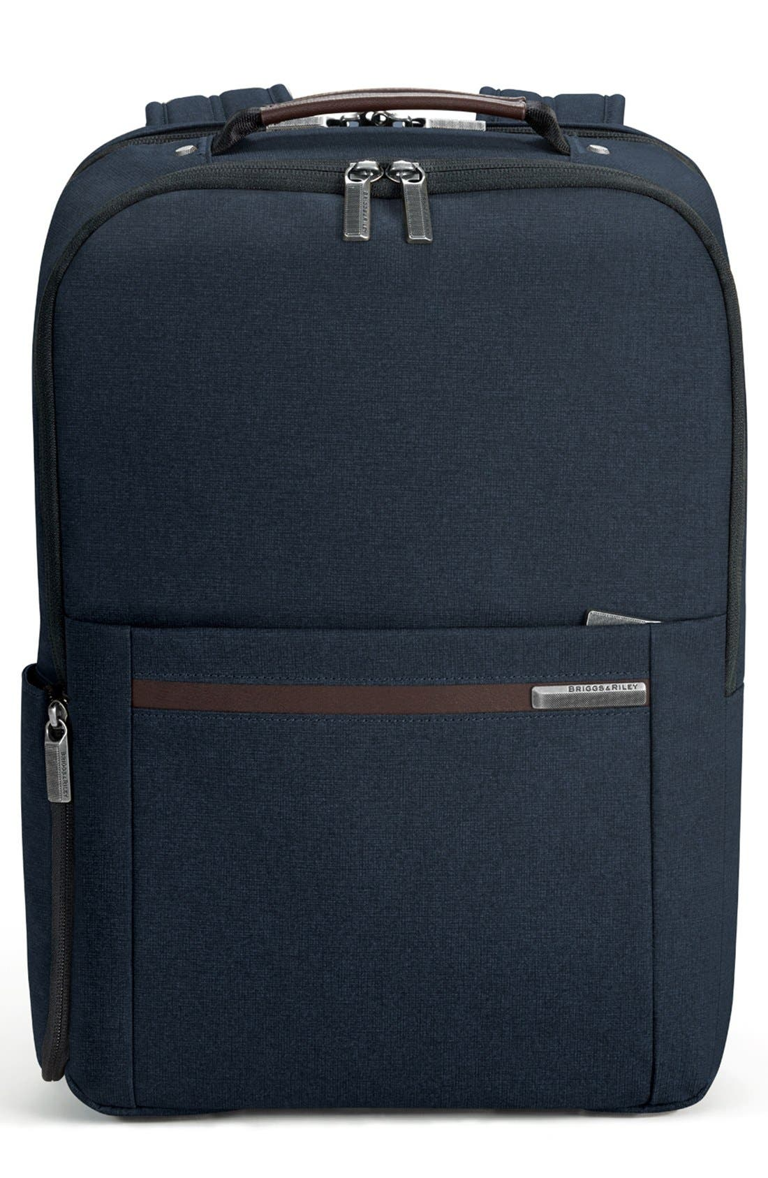 Kinzie Street Medium Backpack,                             Main thumbnail 1, color,                             Navy Blue