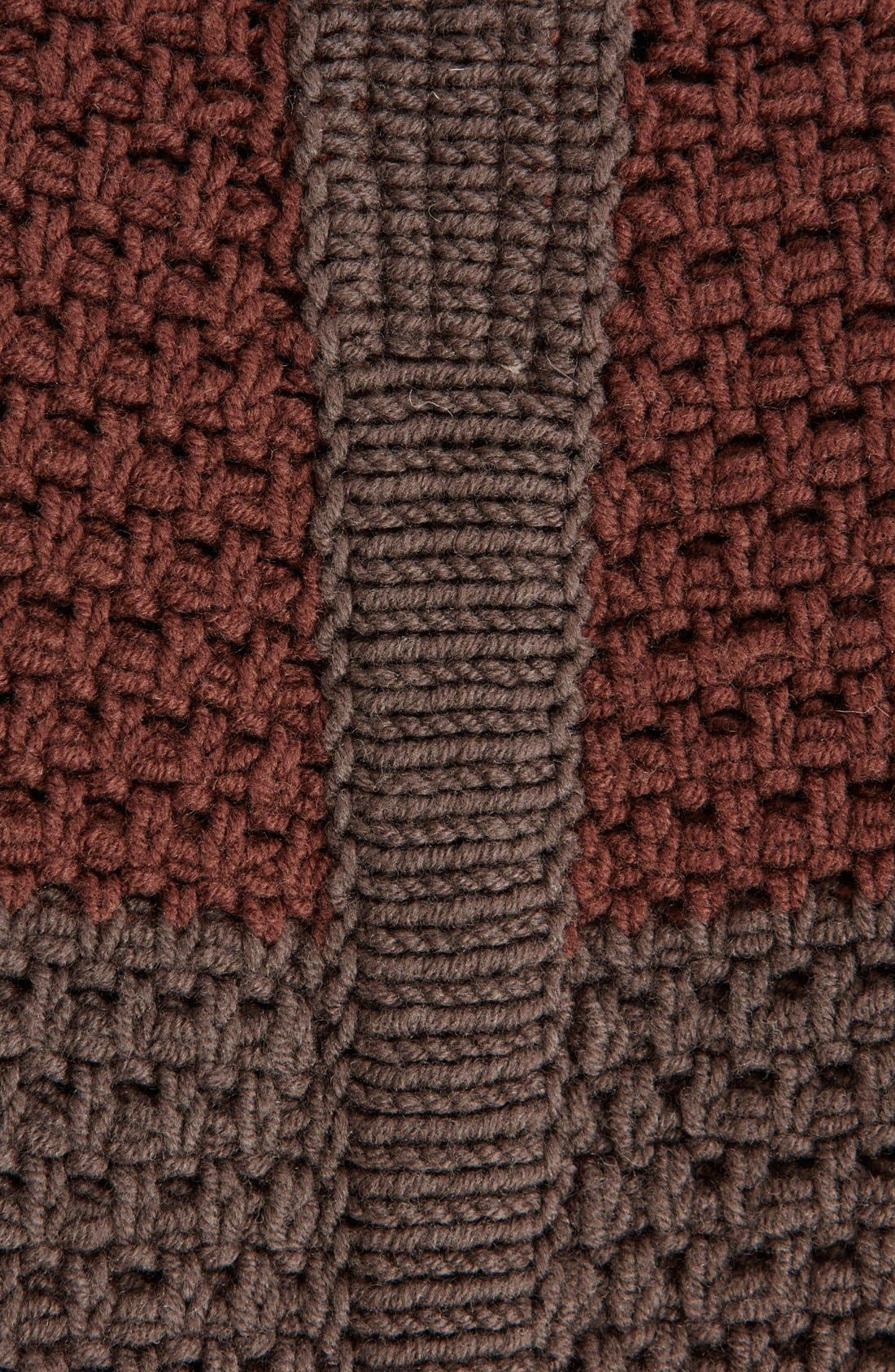 Alternate Image 3  - Rick Owens Stripe Drape Front Wool Cardigan