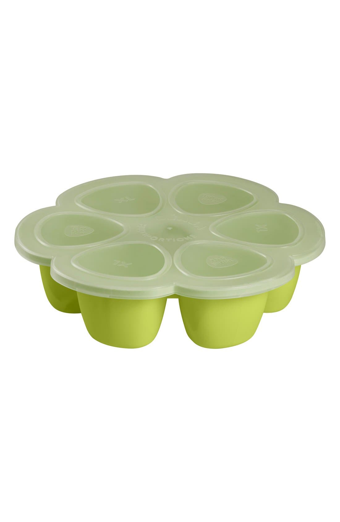 'Multiportions' 3 oz. Food Cup Tray,                             Alternate thumbnail 2, color,                             Neon