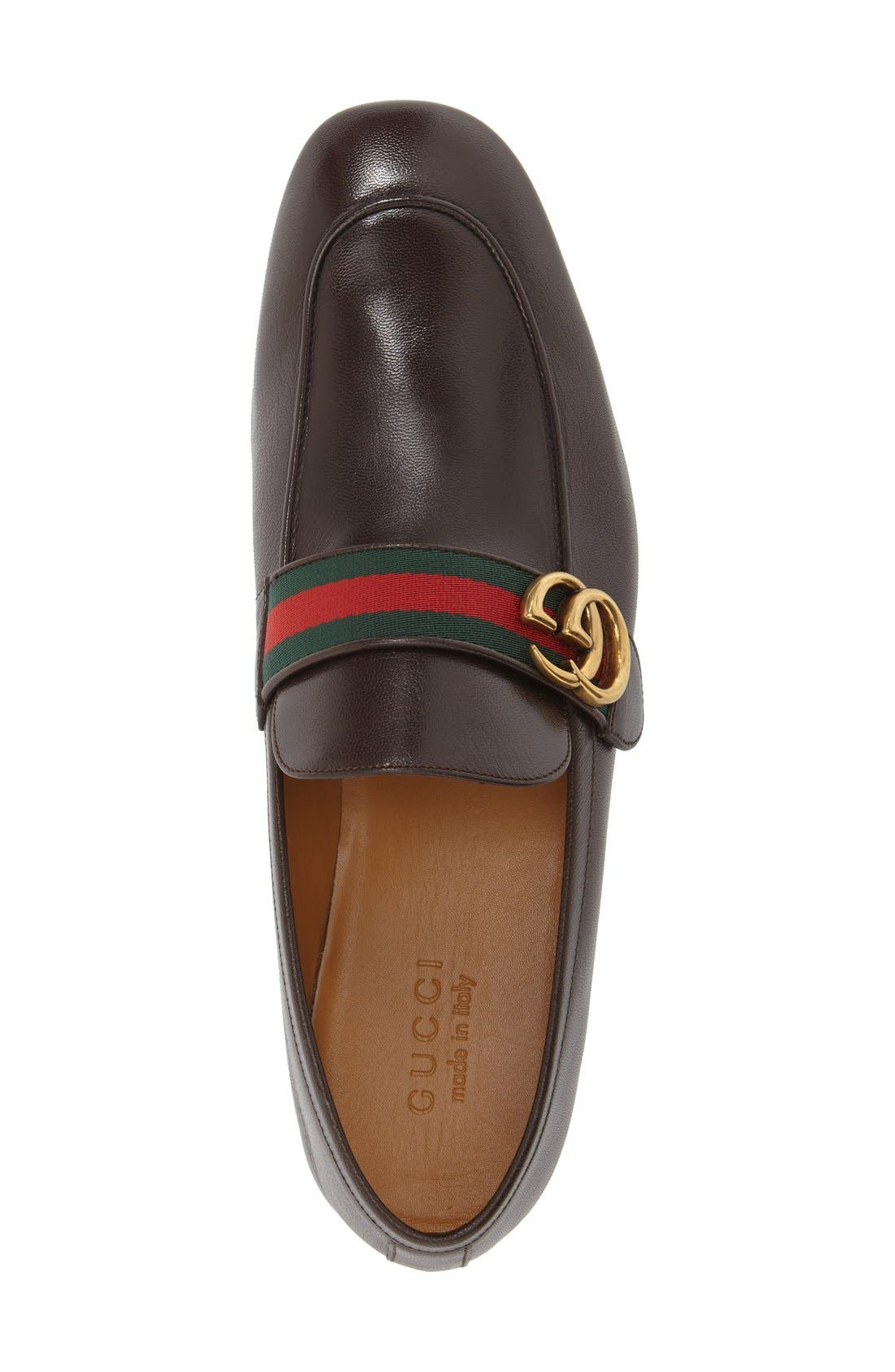 Donnie Bit Loafer,                             Alternate thumbnail 3, color,                             Cocoa Leather