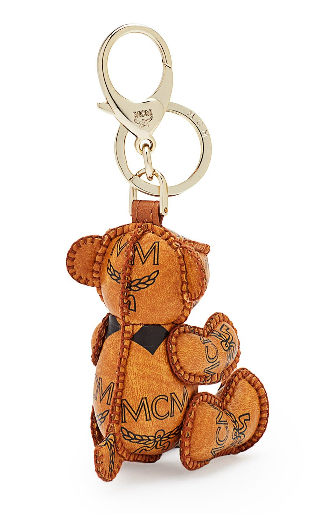 Alternate Image 2  - MCM Bear Bag Charm