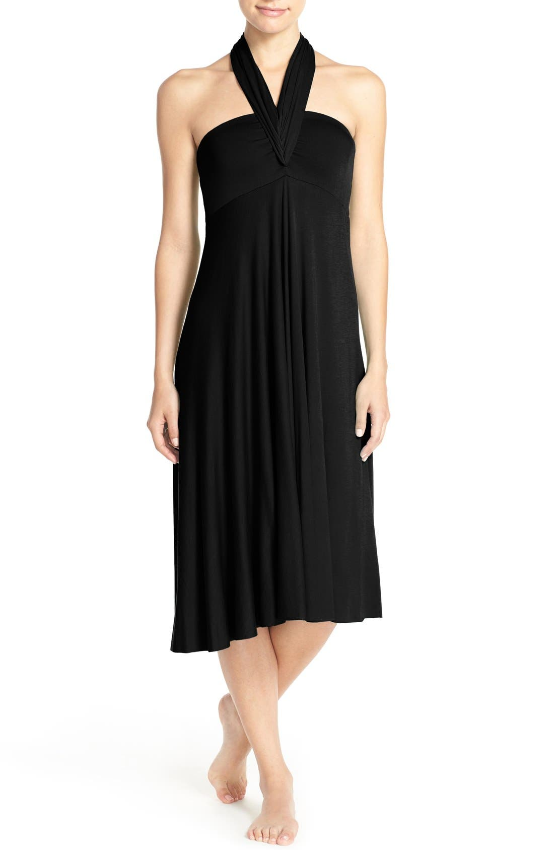 Alternate Image 1 Selected - Elan Convertible Cover-Up Dress