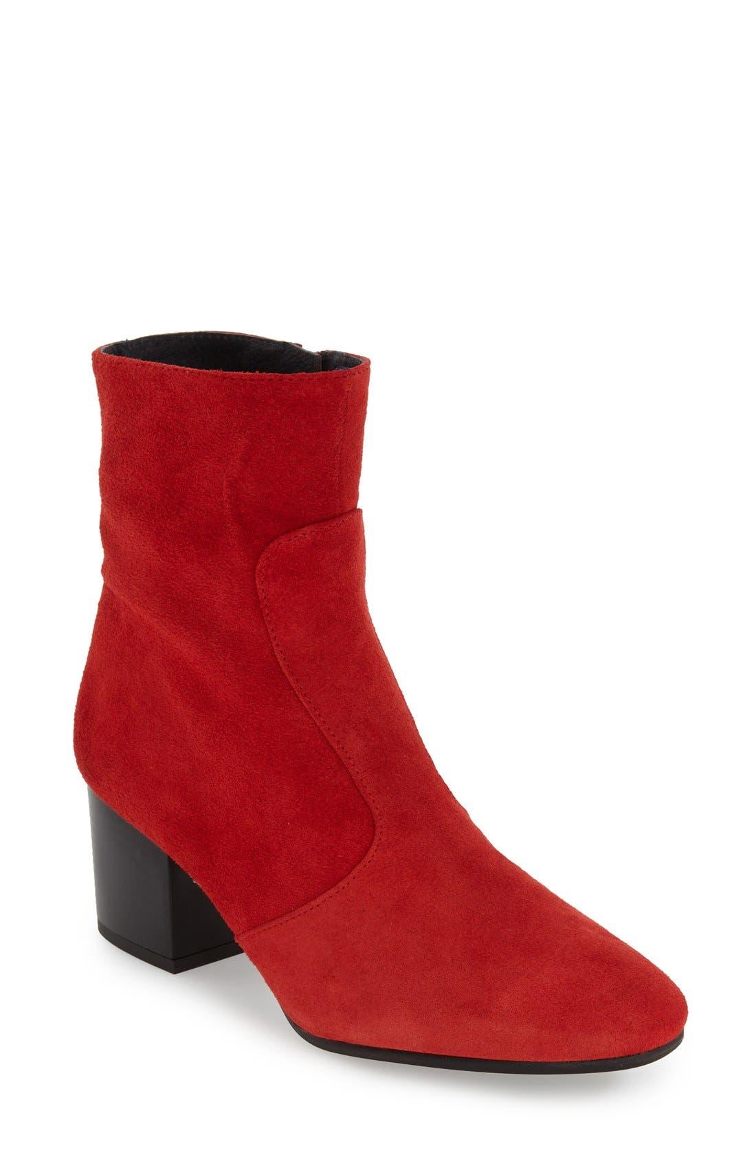 Main Image - Topshop 'Mustard' Western Boot (Women)