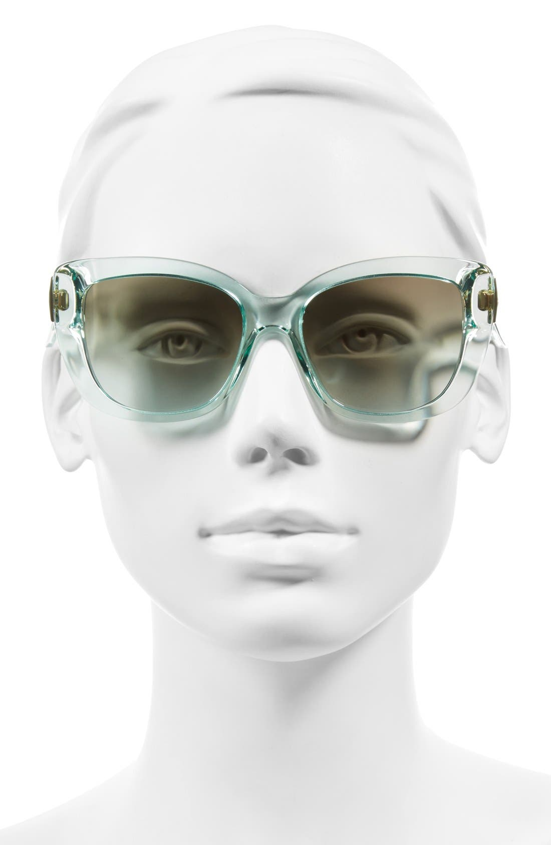 Alternate Image 2  - kate spade new york 'andris' 54mm sunglasses