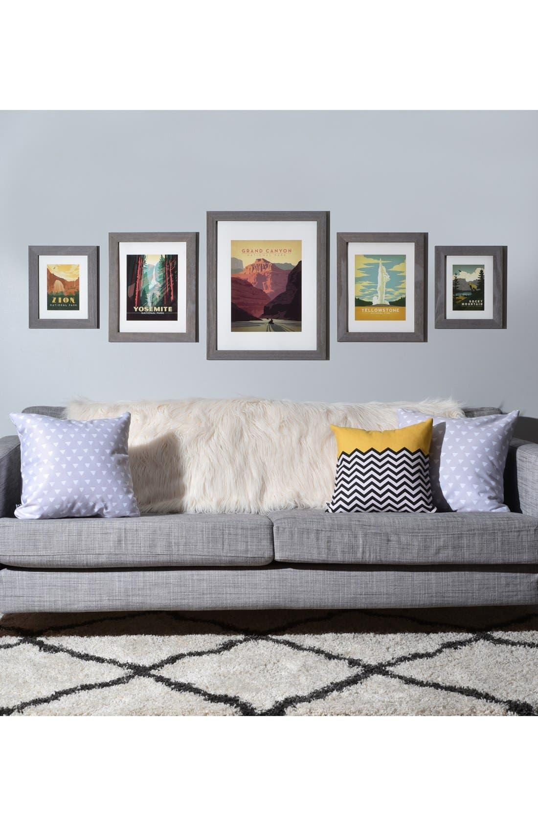 Alternate Image 2  - DENY Designs National Parks Five-Piece Gallery Wall Art Print Set