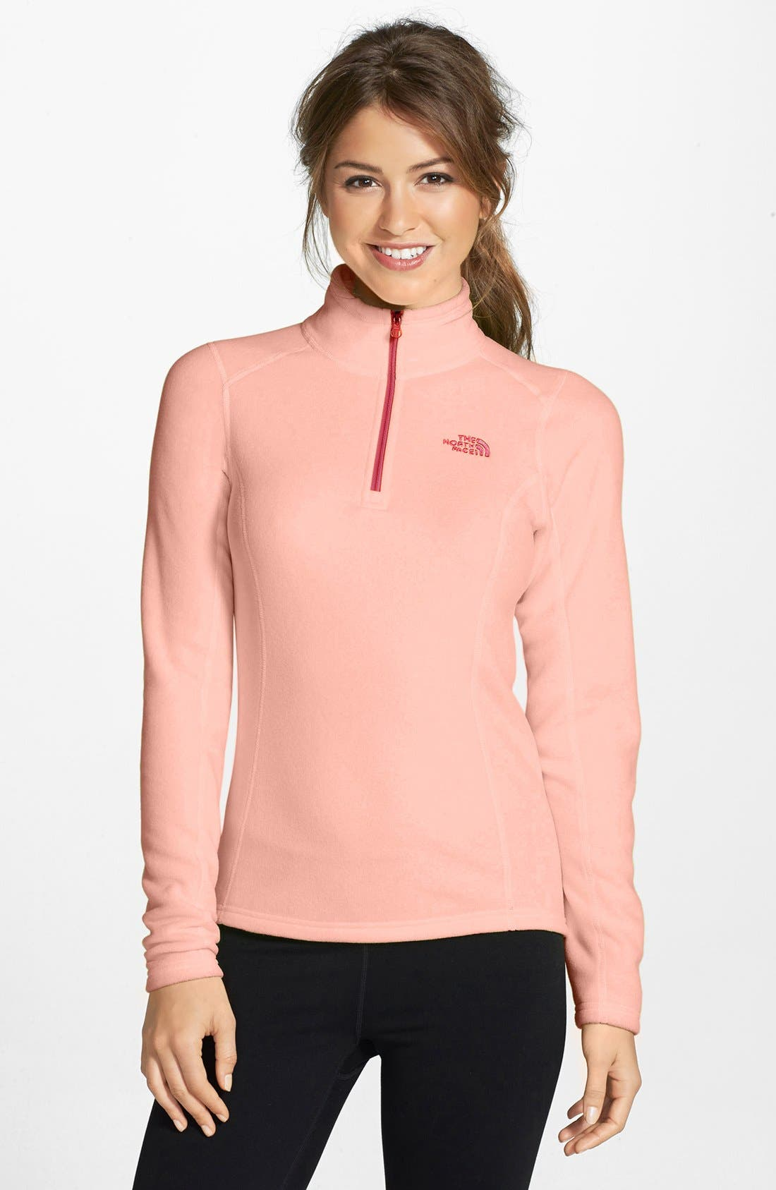 Alternate Image 1 Selected - The North Face 'Glacier' Quarter Zip Pullover