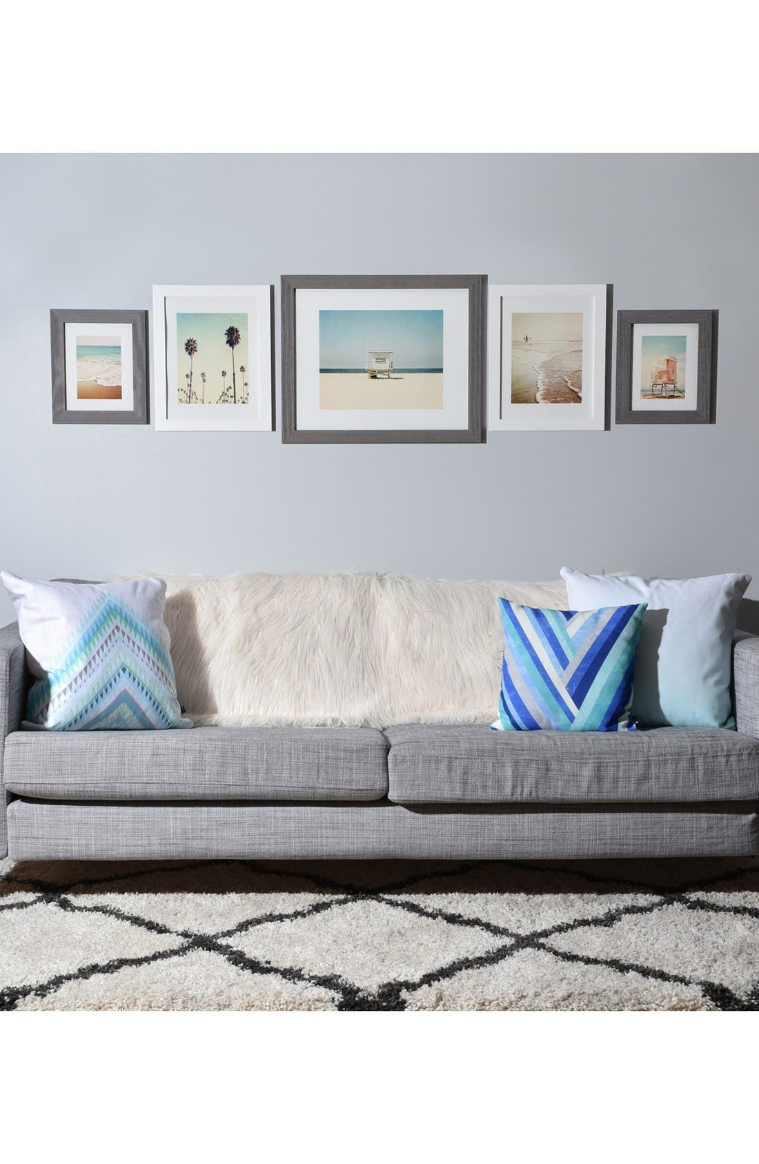 '5th Street' Wall Art Print Set,                             Alternate thumbnail 2, color,                             White