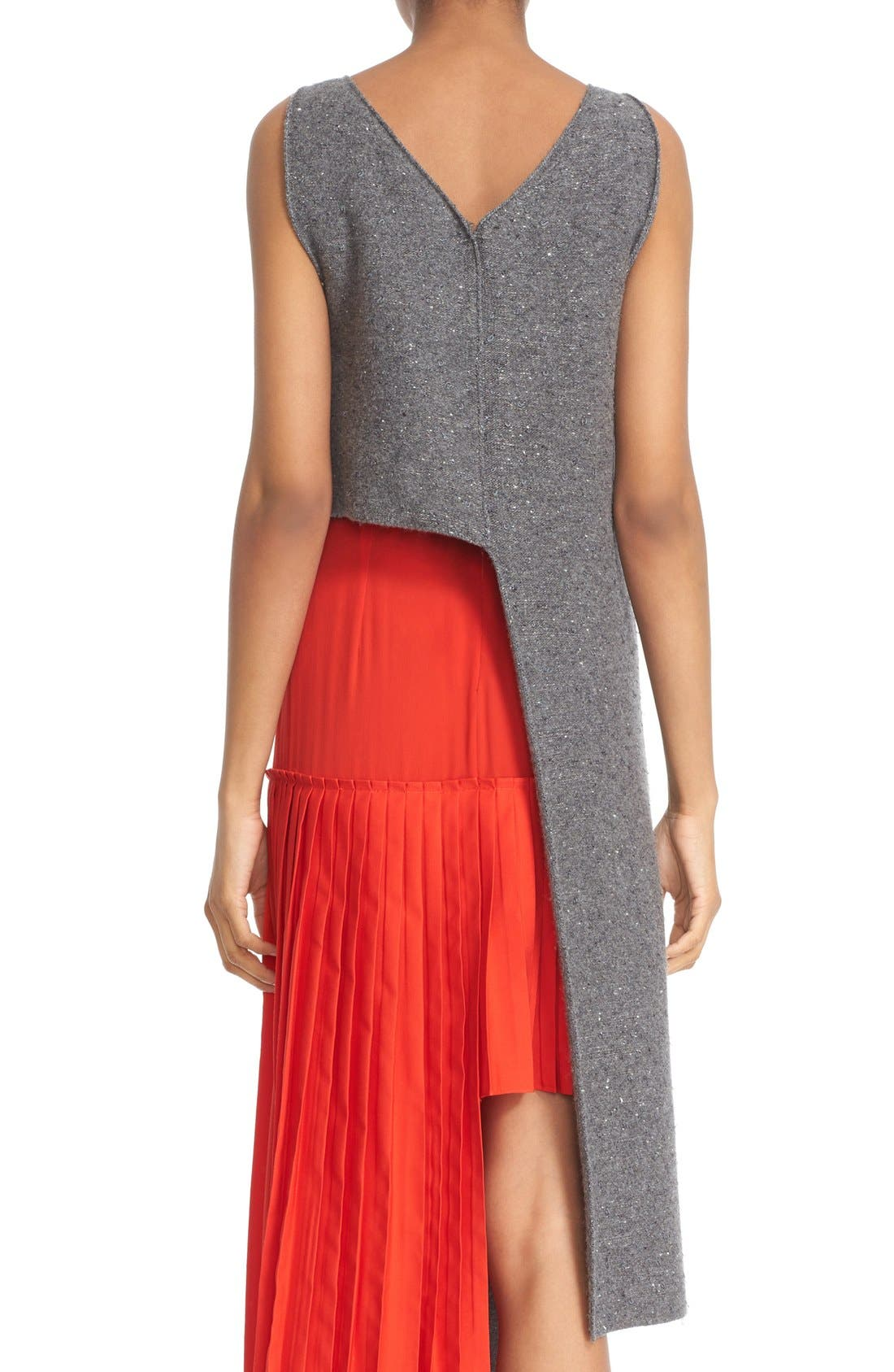 Alternate Image 2  - Stella McCartney Asymmetric High/Low Flannel Top