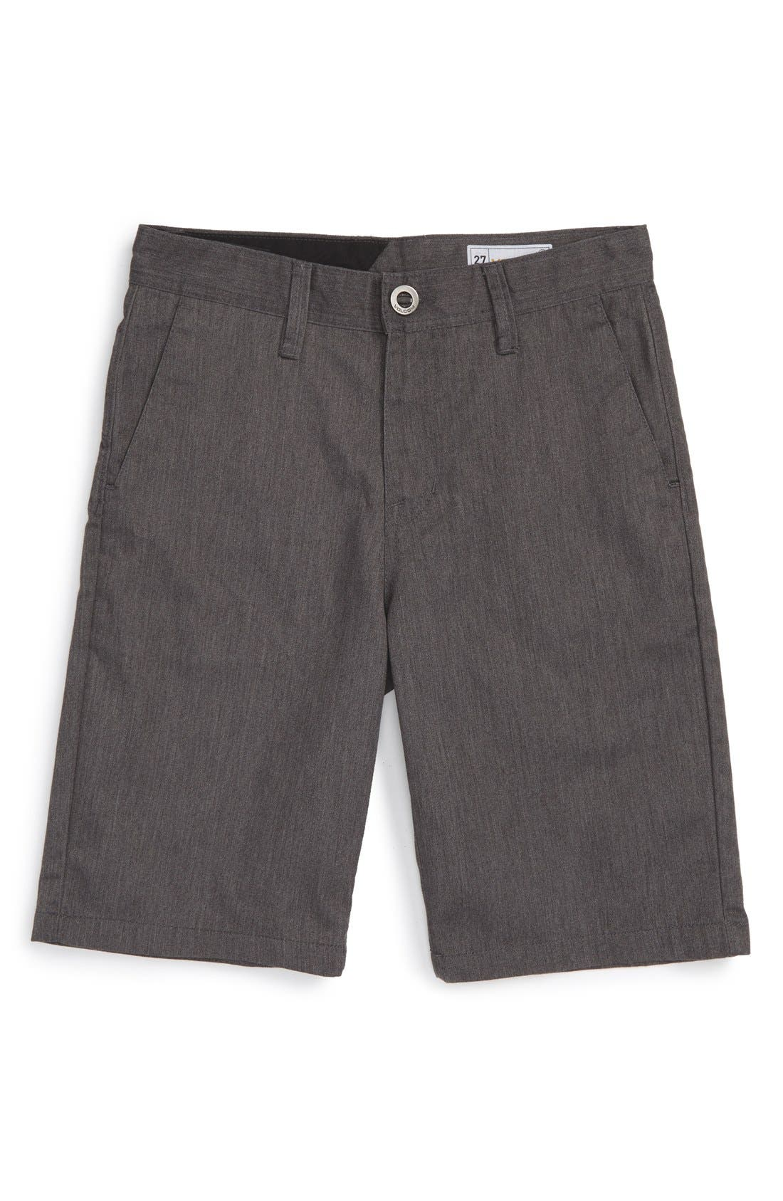 Alternate Image 1 Selected - Volcom Chino Shorts (Toddler Boys, Little Boys & Big Boys)
