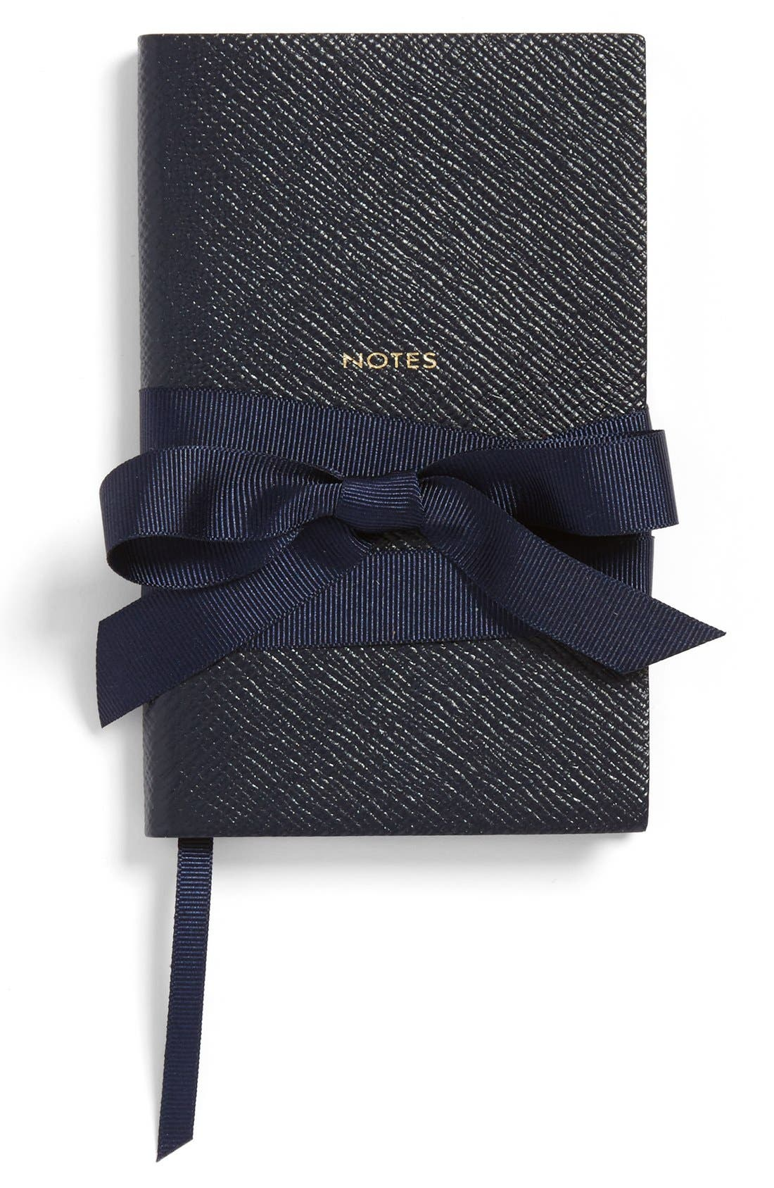 'Panama Notes' Pocket Notebook,                             Alternate thumbnail 3, color,                             Blue Navy Heritage