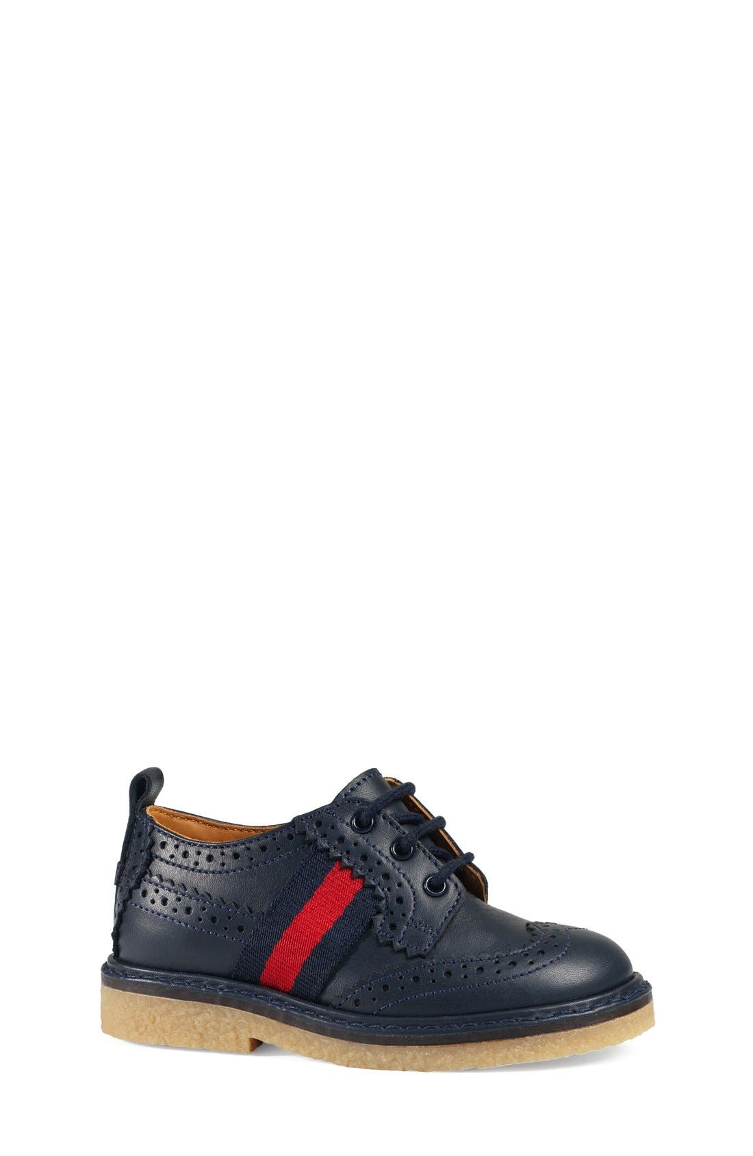 Alternate Image 1 Selected - Gucci 'Darby' Oxford (Baby, Walker, Toddler & Little Kid)