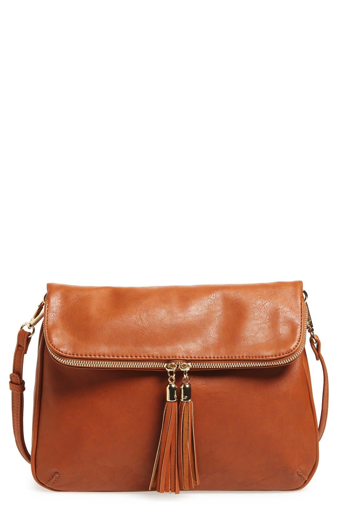 Alternate Image 1 Selected - BP. Foldover Crossbody Bag