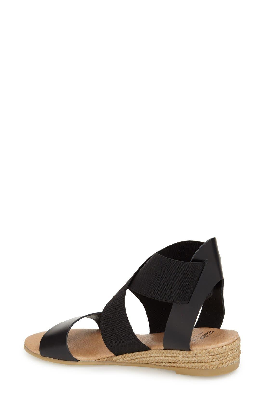 Alternate Image 2  - André Assous 'Malta' Wedge Espadrille Sandal (Women)